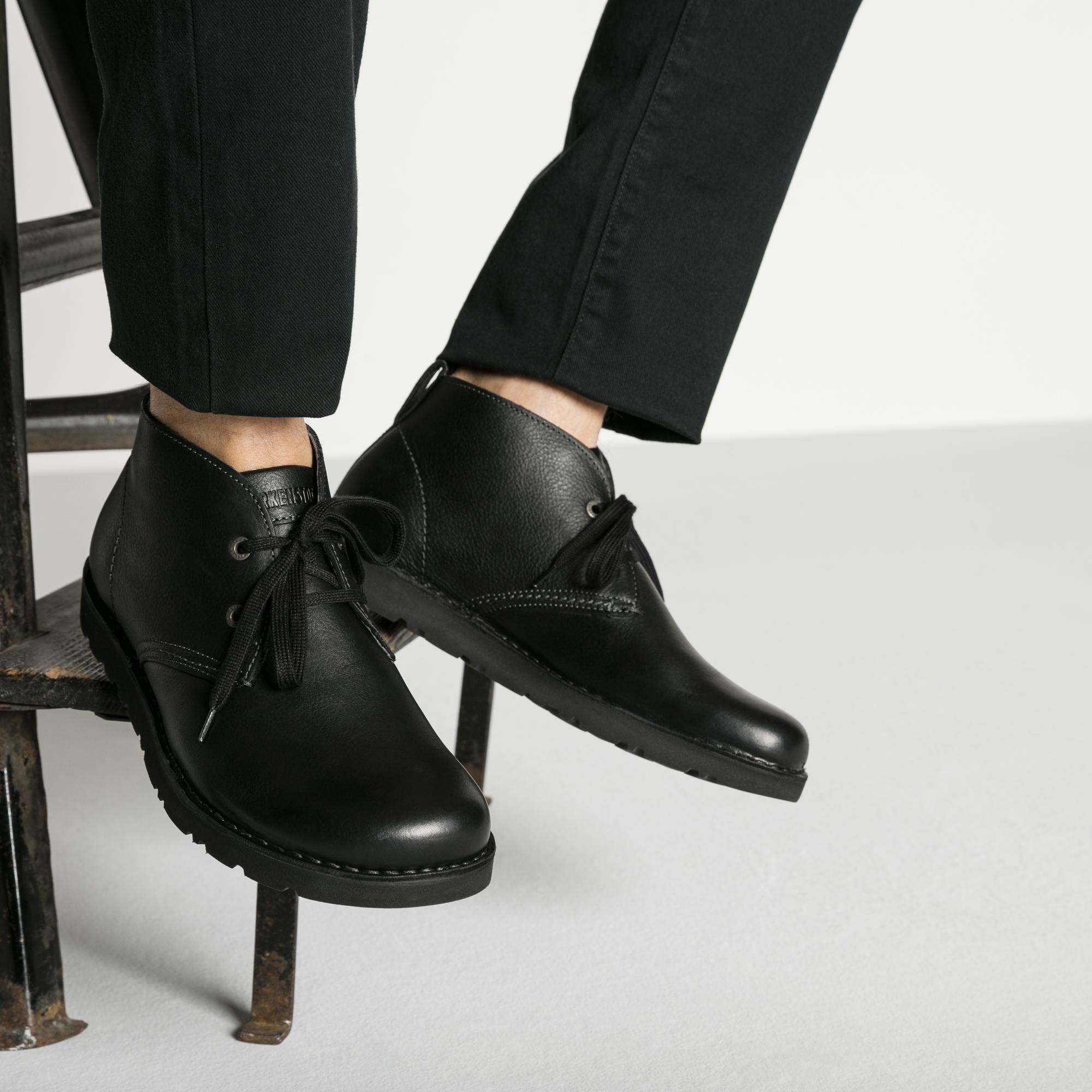 Harris Natural Leather Black