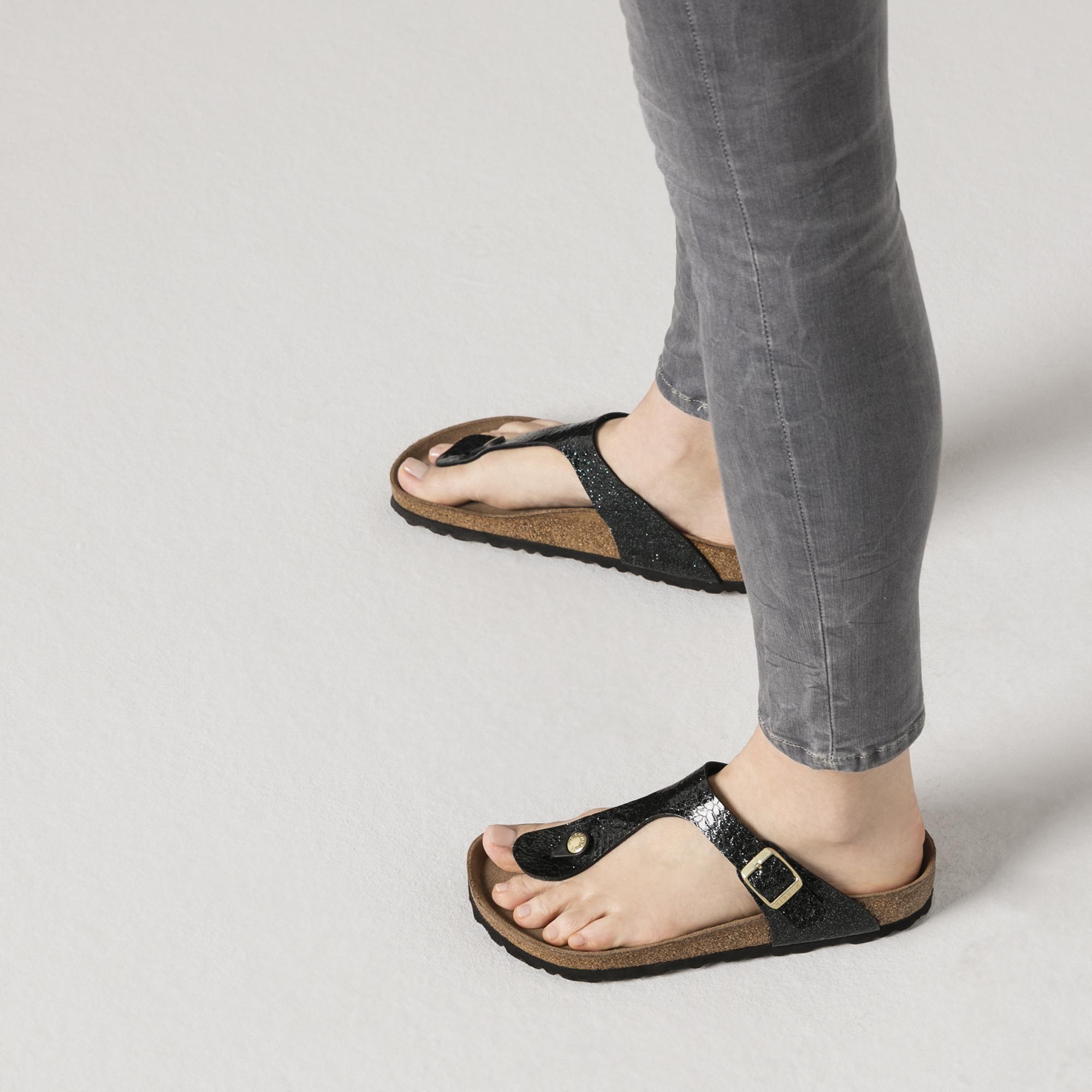Birkenstock Gizeh Weiß Lack | Birkenstock # Anklet # Toe Rin