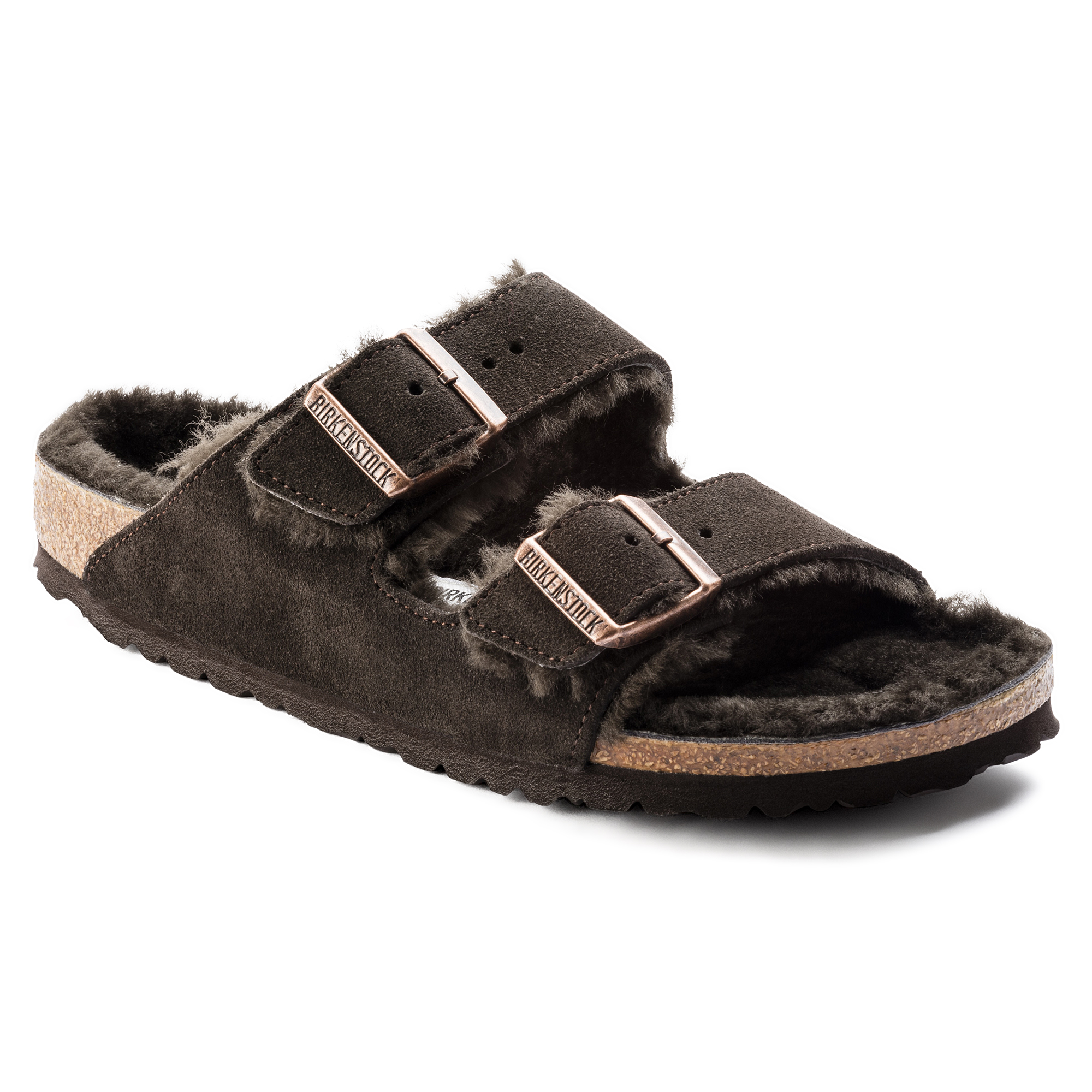 5c4e051458df Arizona Suede Leather Mocha ...