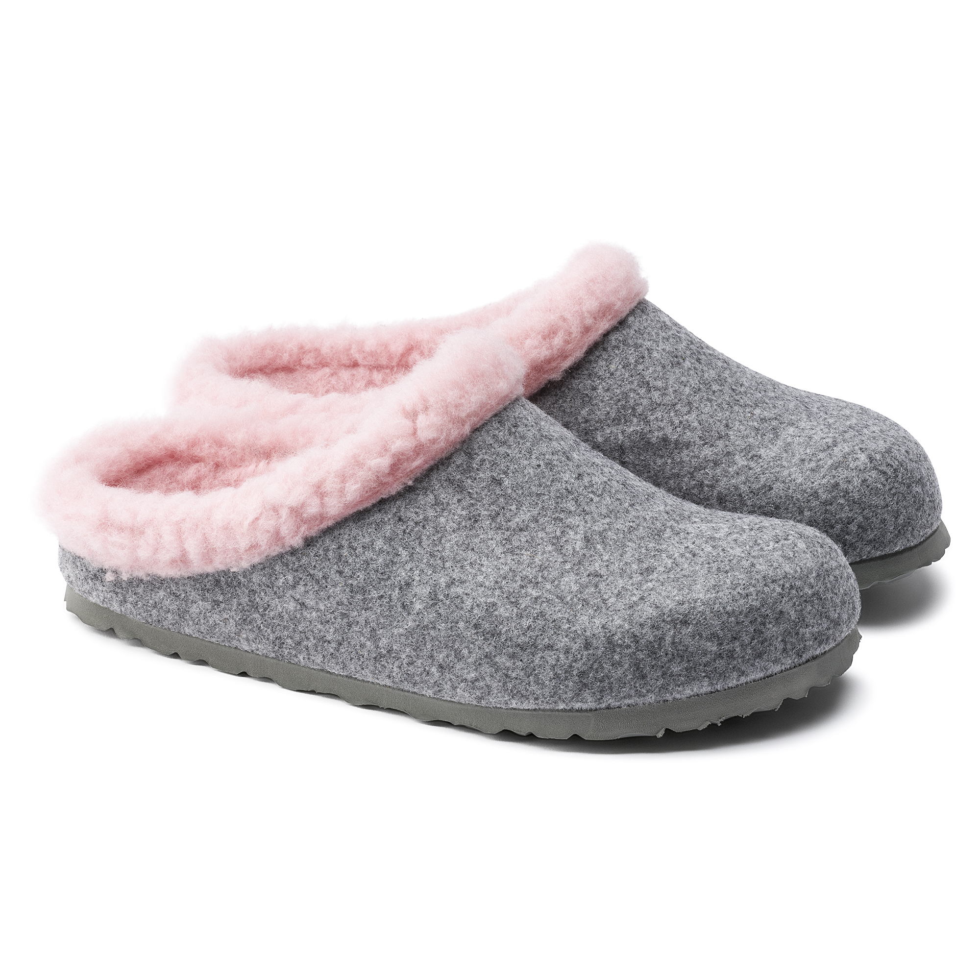 6f7f0263cd7018 Kaprun Wool Felt Grey Happy Lamb Rose ...