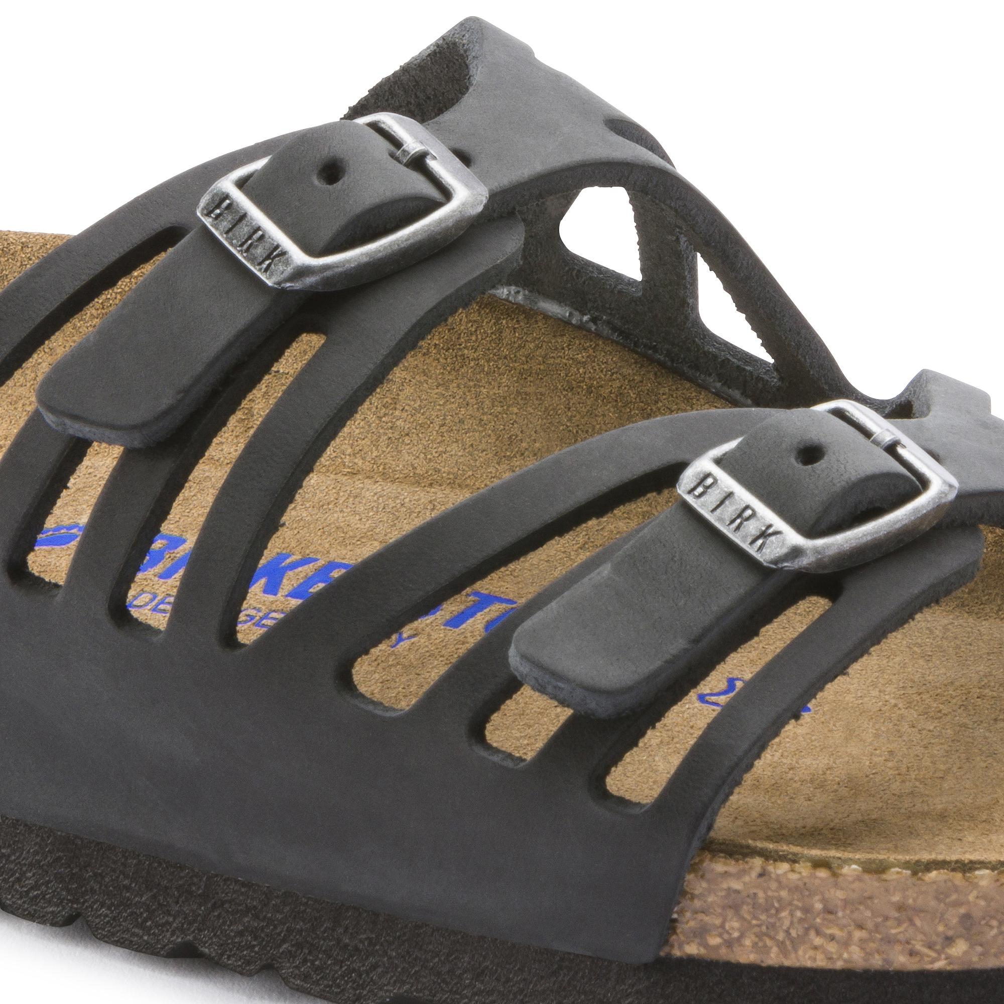 Birkenstock Granada Soft Footbed Black