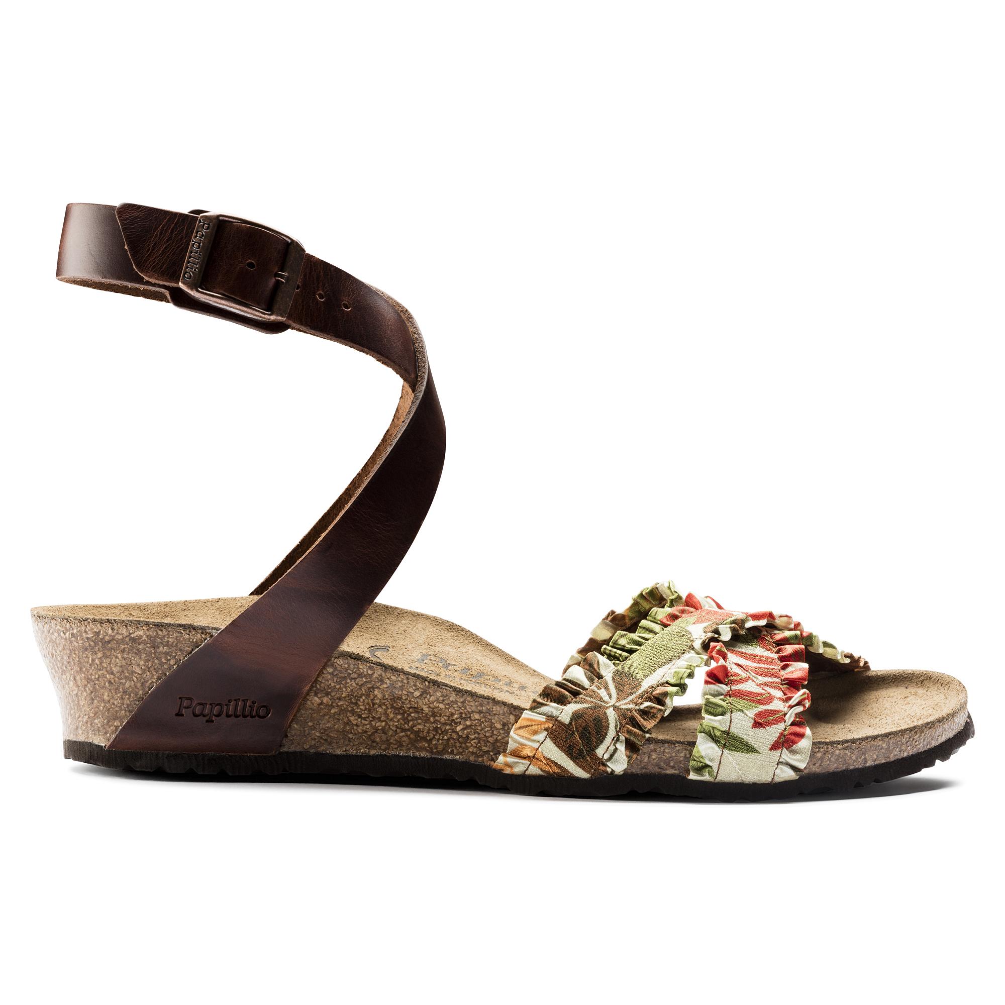 13b3f3424fc ... Lola Birko-Flor Flower Frill Brown ...