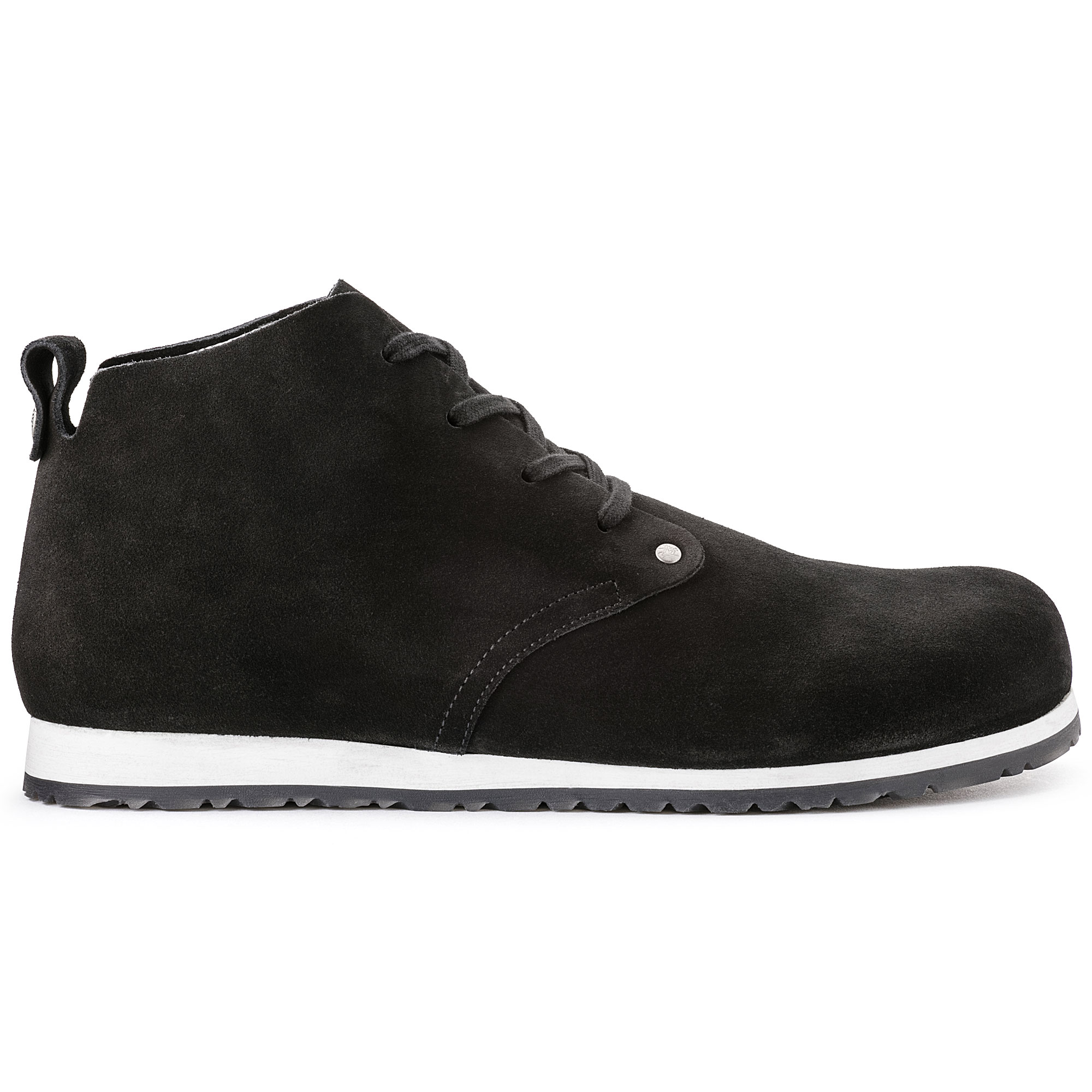 ... Dundee Suede Leather Black ... 9b746cfa797
