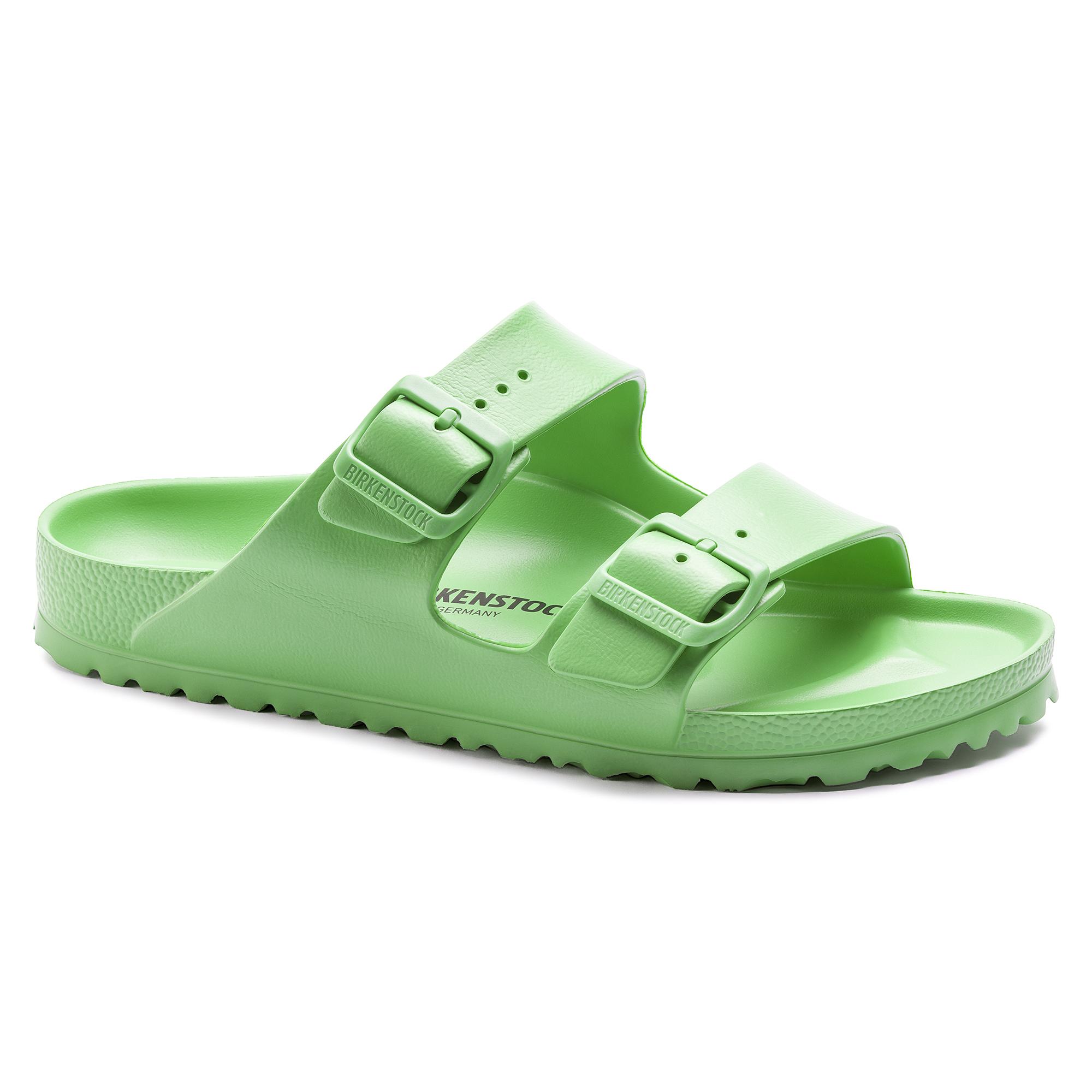 Birkenstock Arizona Essentials Eva Green Sandals