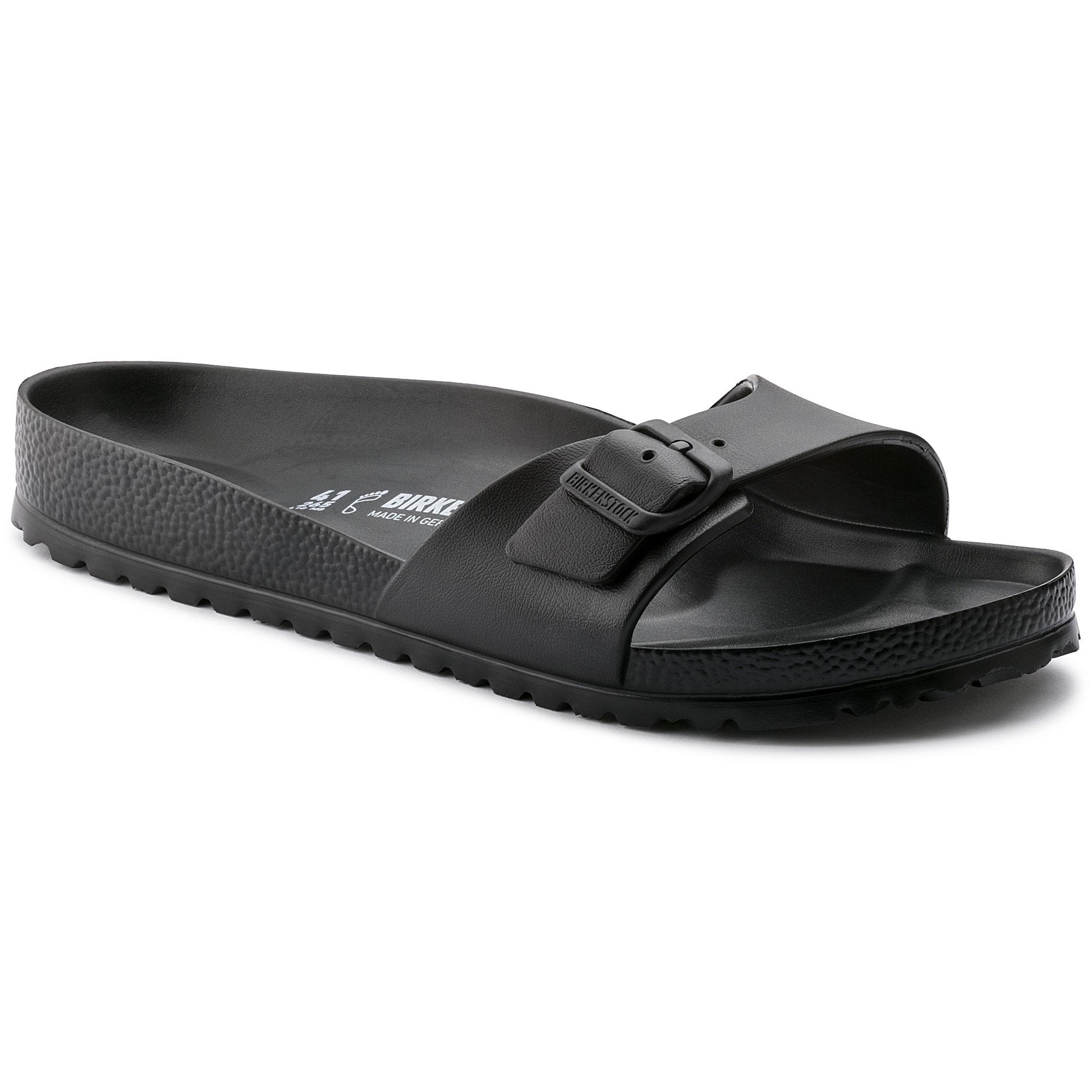 BIRKENSTOCK MADRID EVA Red Buckle Slide Sandals Women's Size