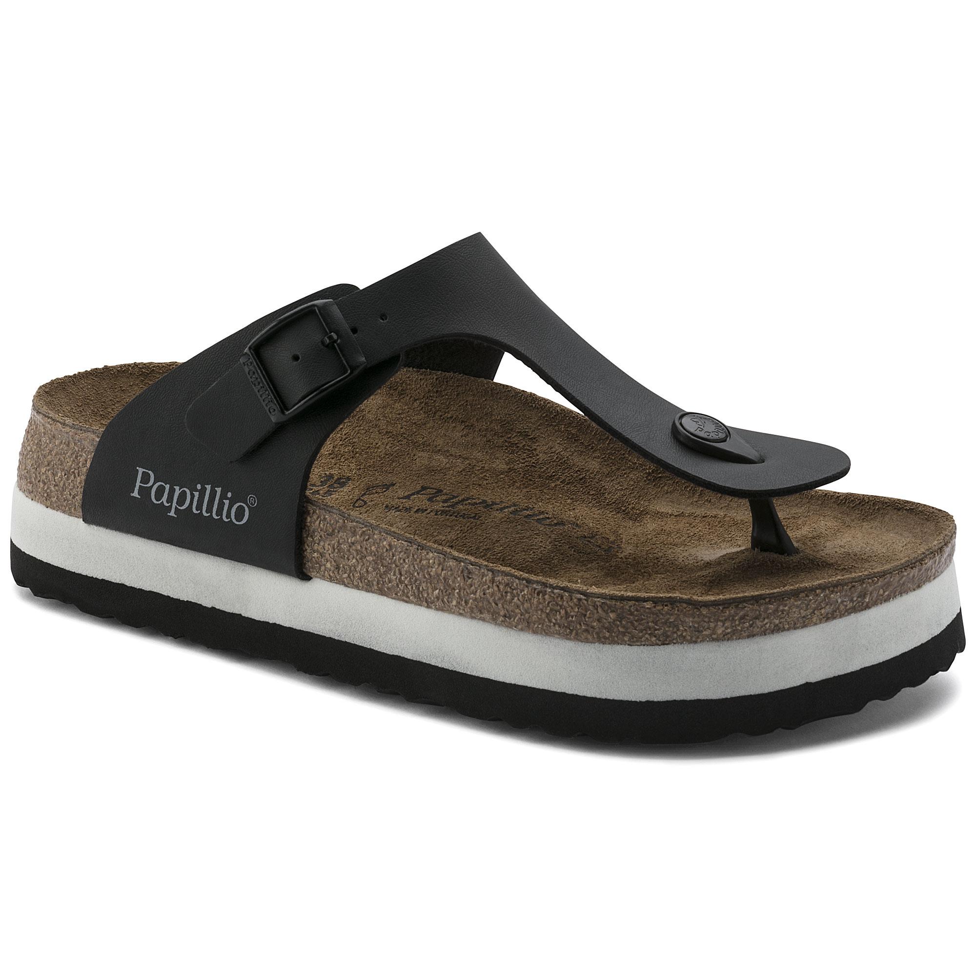 Birkenstock Papillio Gizeh Birko flor Toe Sandal Ladies Platform Shoes Sandals | eBay