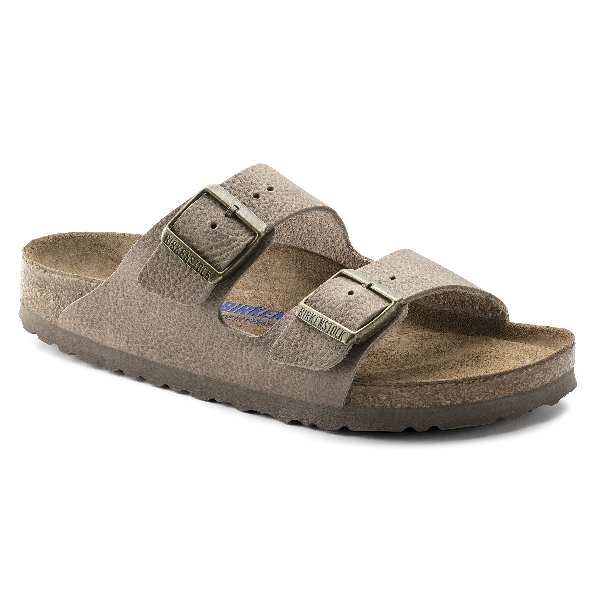 d7b62977f10d94 Arizona Nubuck Leather Soft Footbed Steer Taupe ...