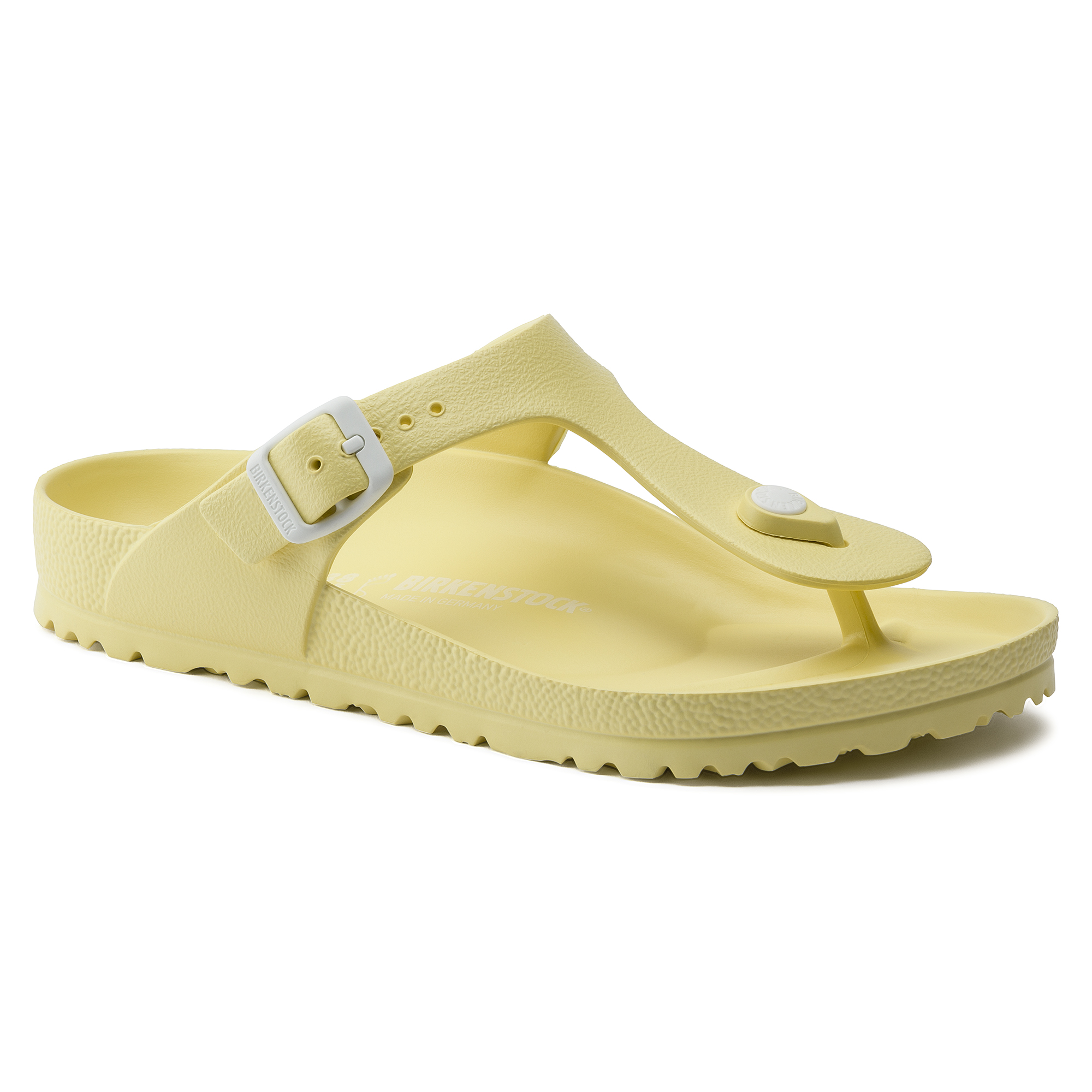 BIRKENSTOCK GIZEH EVA Womens Rubber Soft Yellow Toe Thong