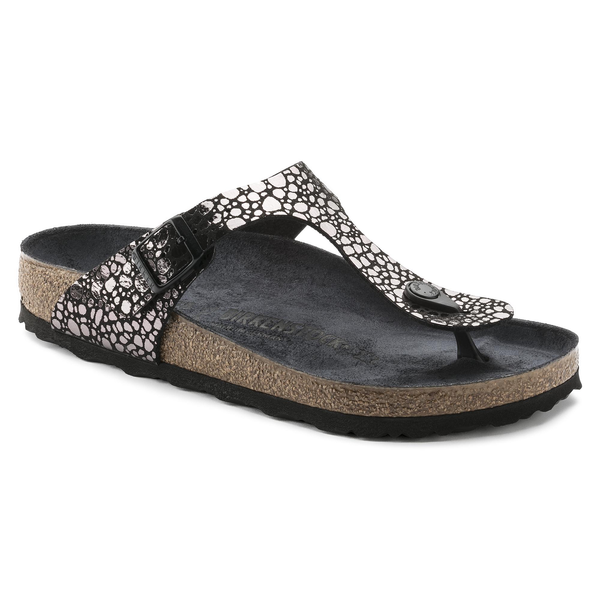 8969b66d4e1f15 Gizeh Birko-Flor Metallic Stones Black