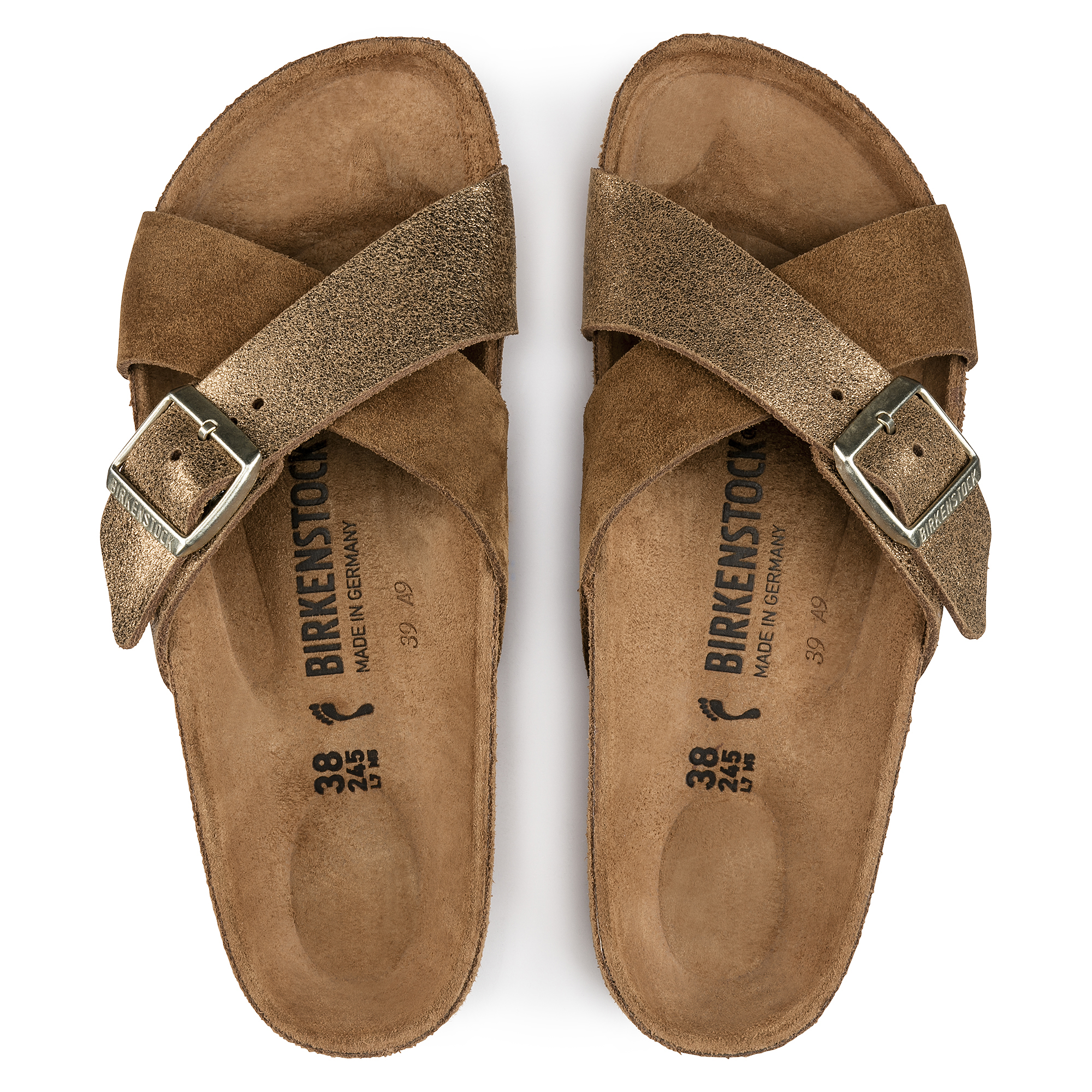 2bc776f63f4c ... Siena Suede Leather Allover Mink ...