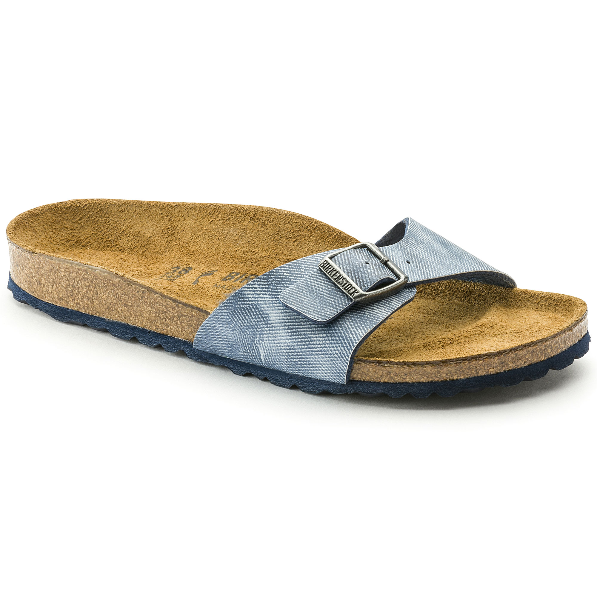 Birkenstock Madrid Jeans Washes Out Blue