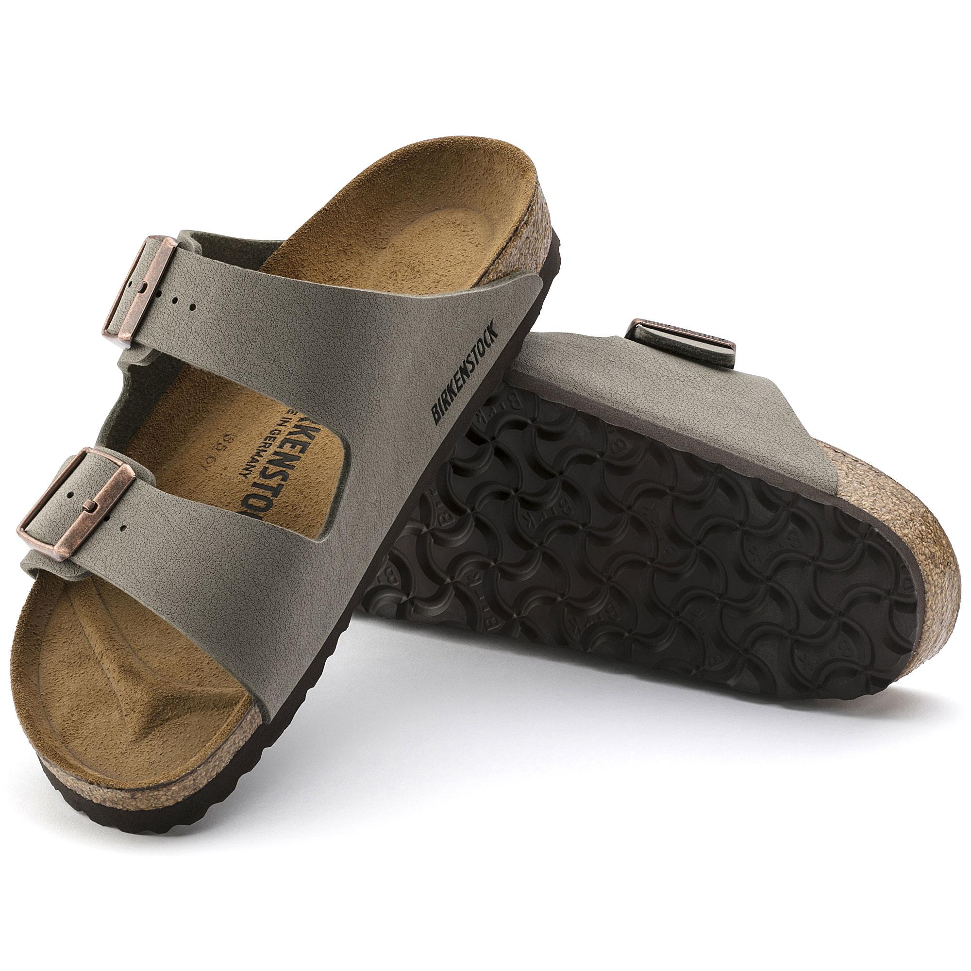 Pantoletten Birkenstock Mayari Oiled Leather Black Regular Damen