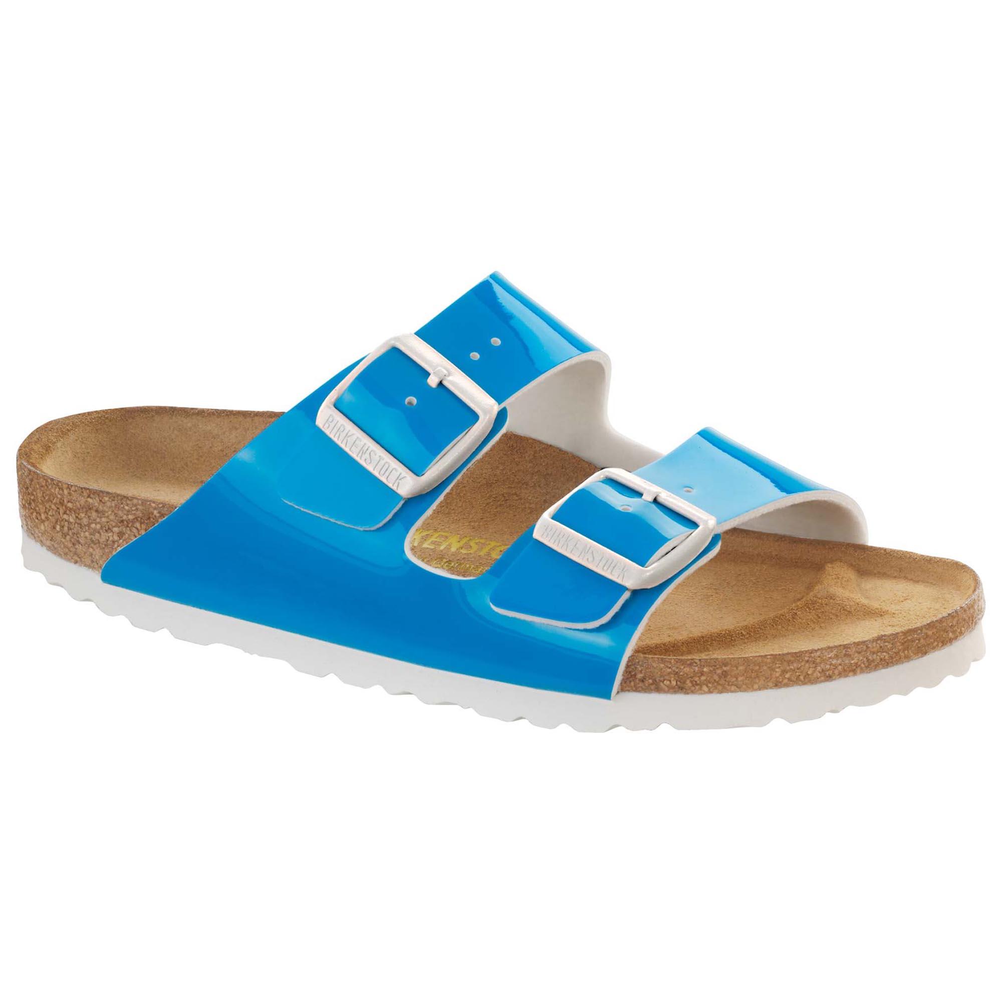 Arizona Birko-Flor Patent Neon Blue