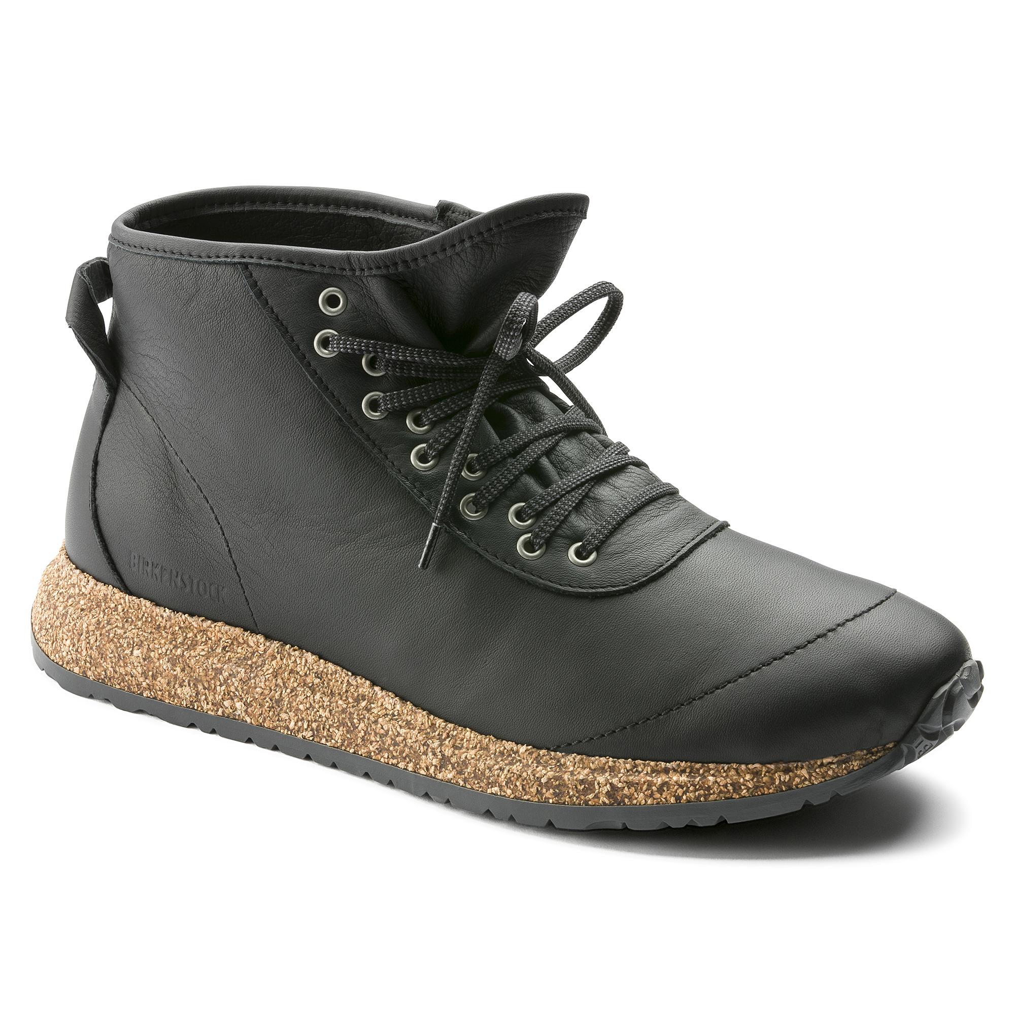 ded9112360f7 Atlin Natural Leather Black