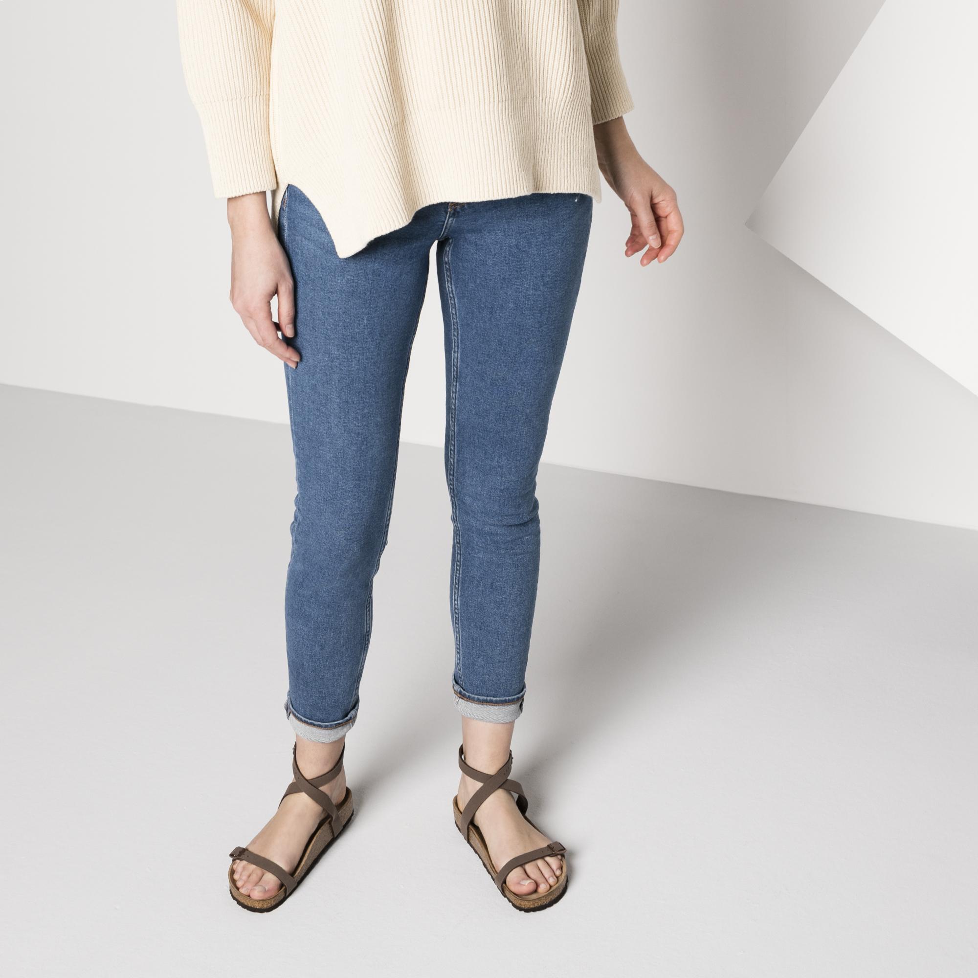 Shop Birkenstock Daloa Ankle Strap Sandal In Mocha