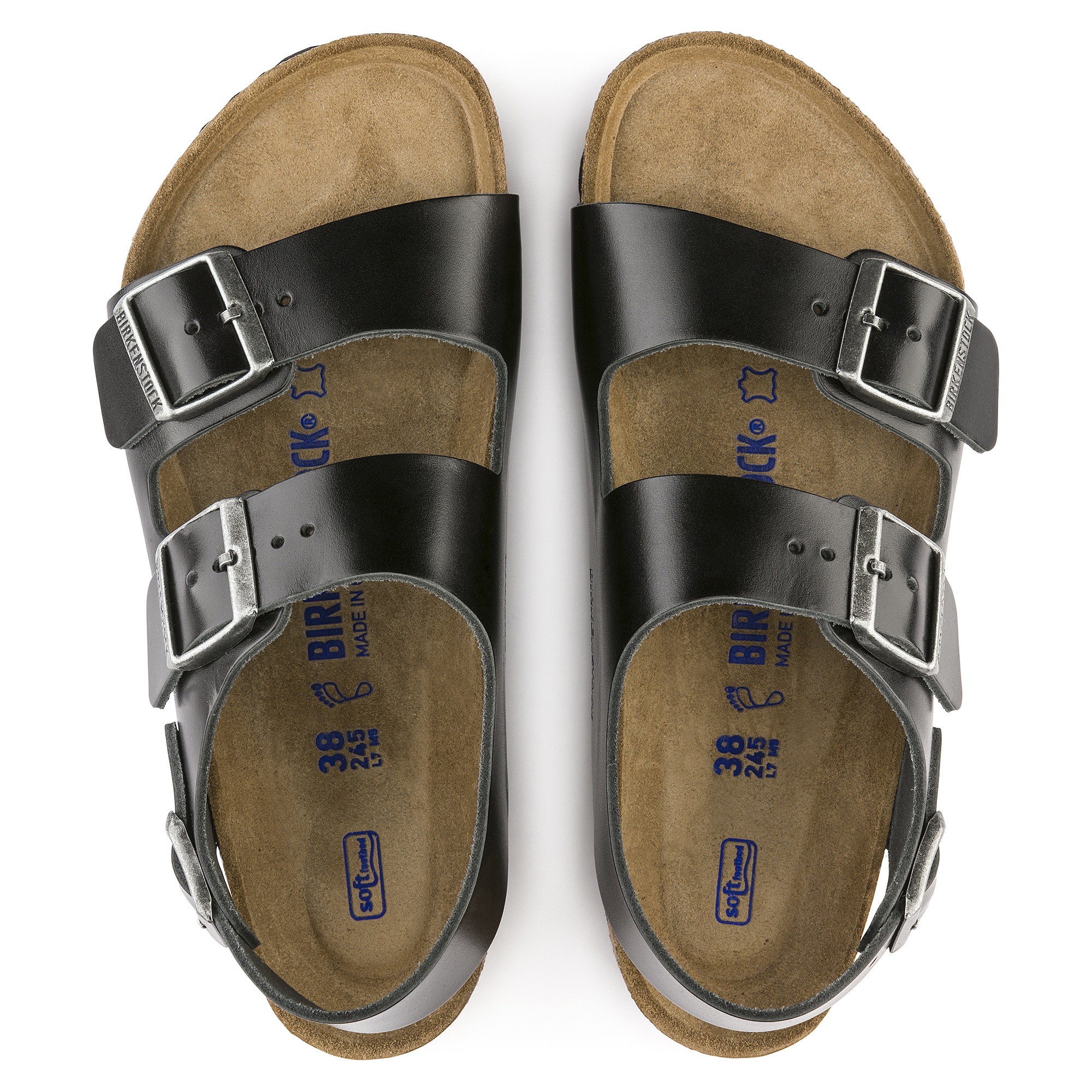 e6e313682 Milano Real Leather Soft footbed | shop online at BIRKENSTOCK