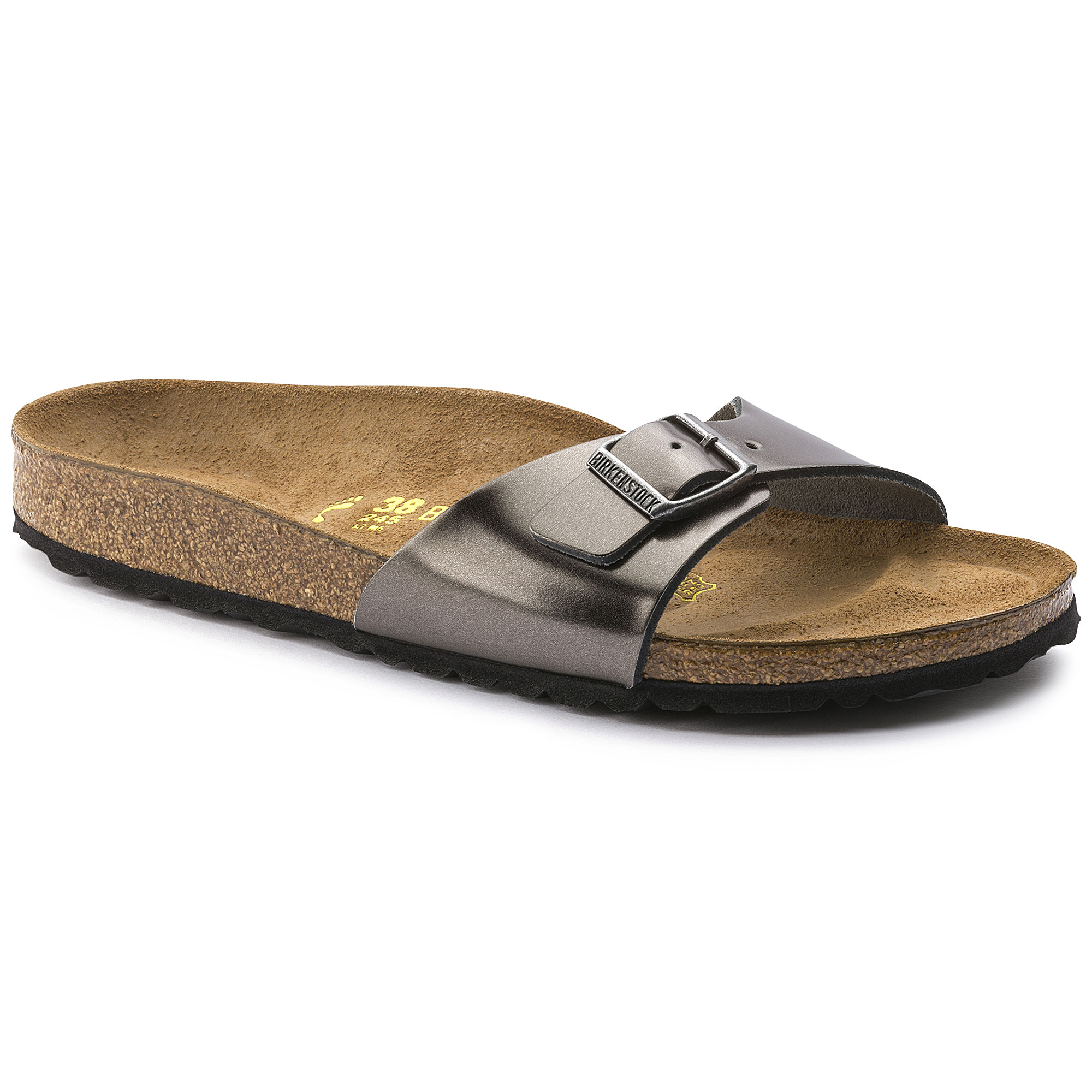 sports shoes 35625 fe2fa Madrid Leather Metallic Anthracite