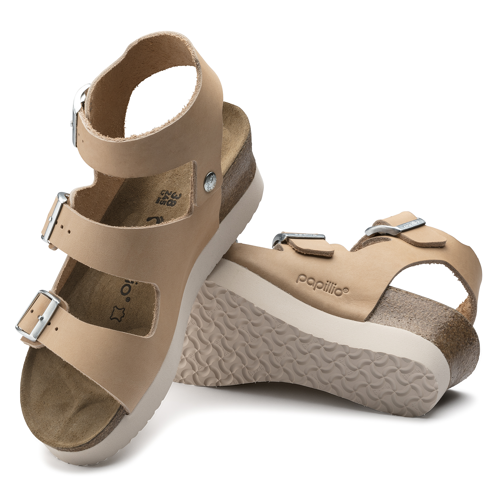 Buy Birkenstock Linnea Nude Leather Online Limited Time