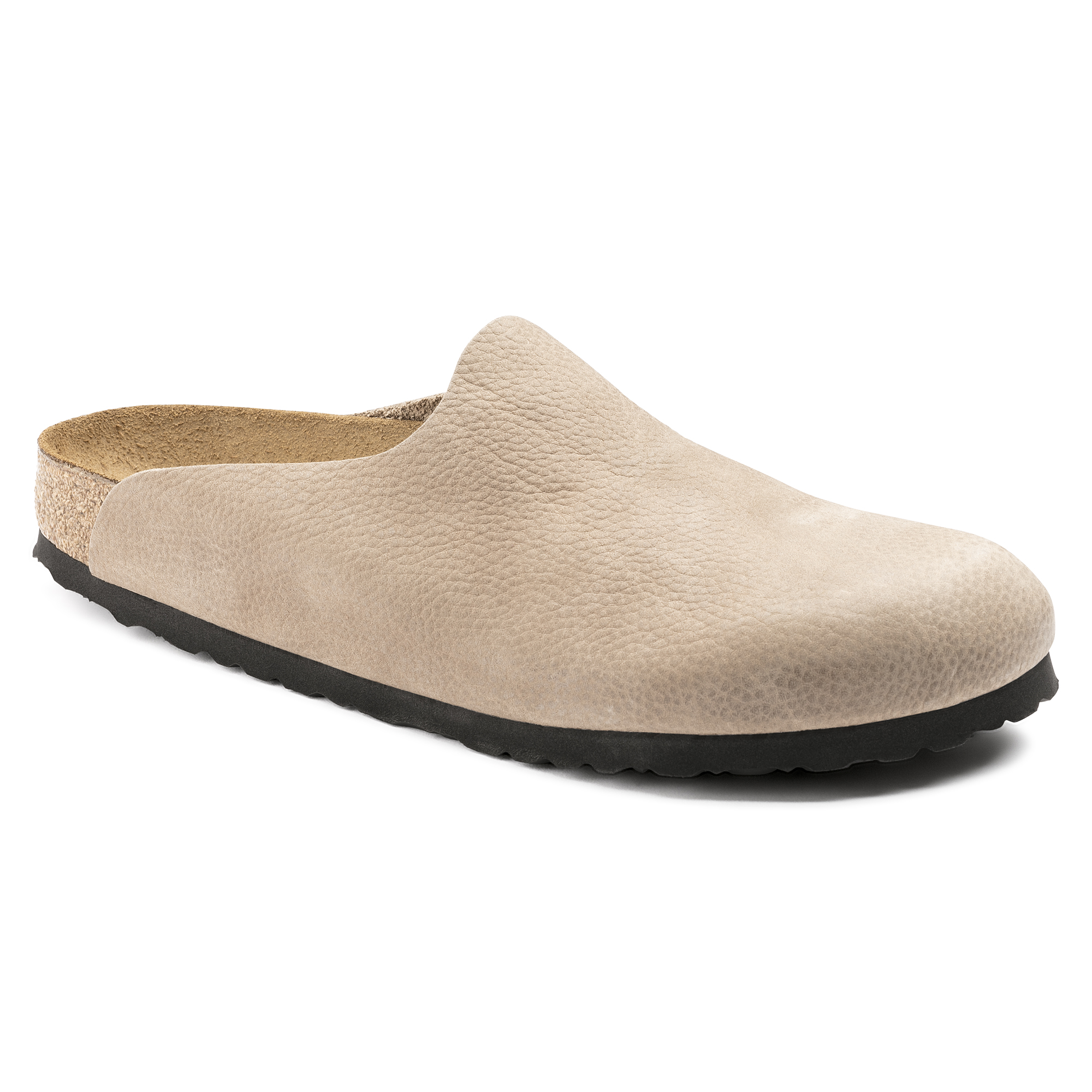 9d5e2359316 Amsterdam Nubuck Leather Steer Taupe