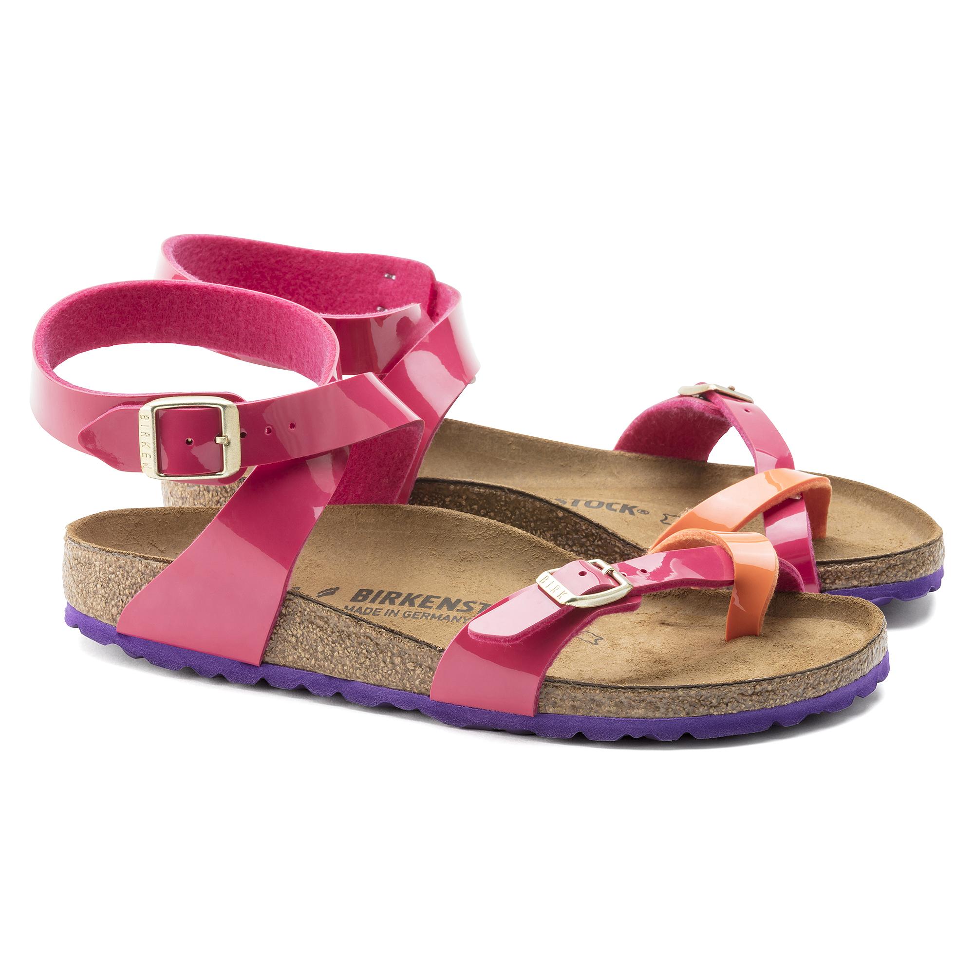 Chaussures Birkenstock Yara violettes femme oJwIY