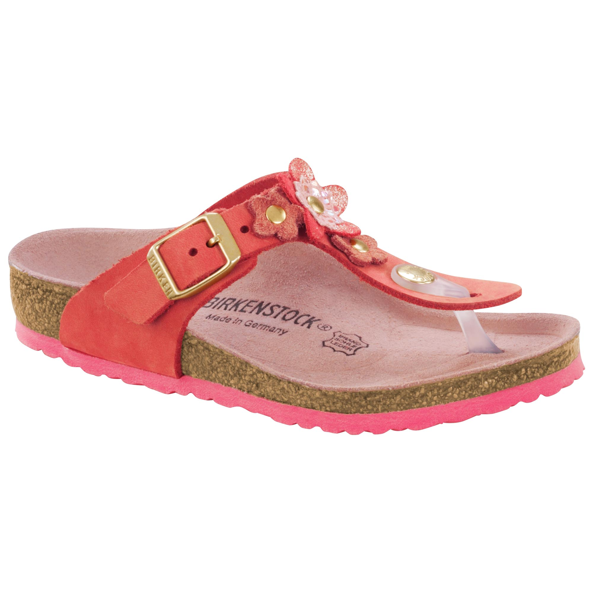 Gizeh Nubuck Leather Natural Tea Rose