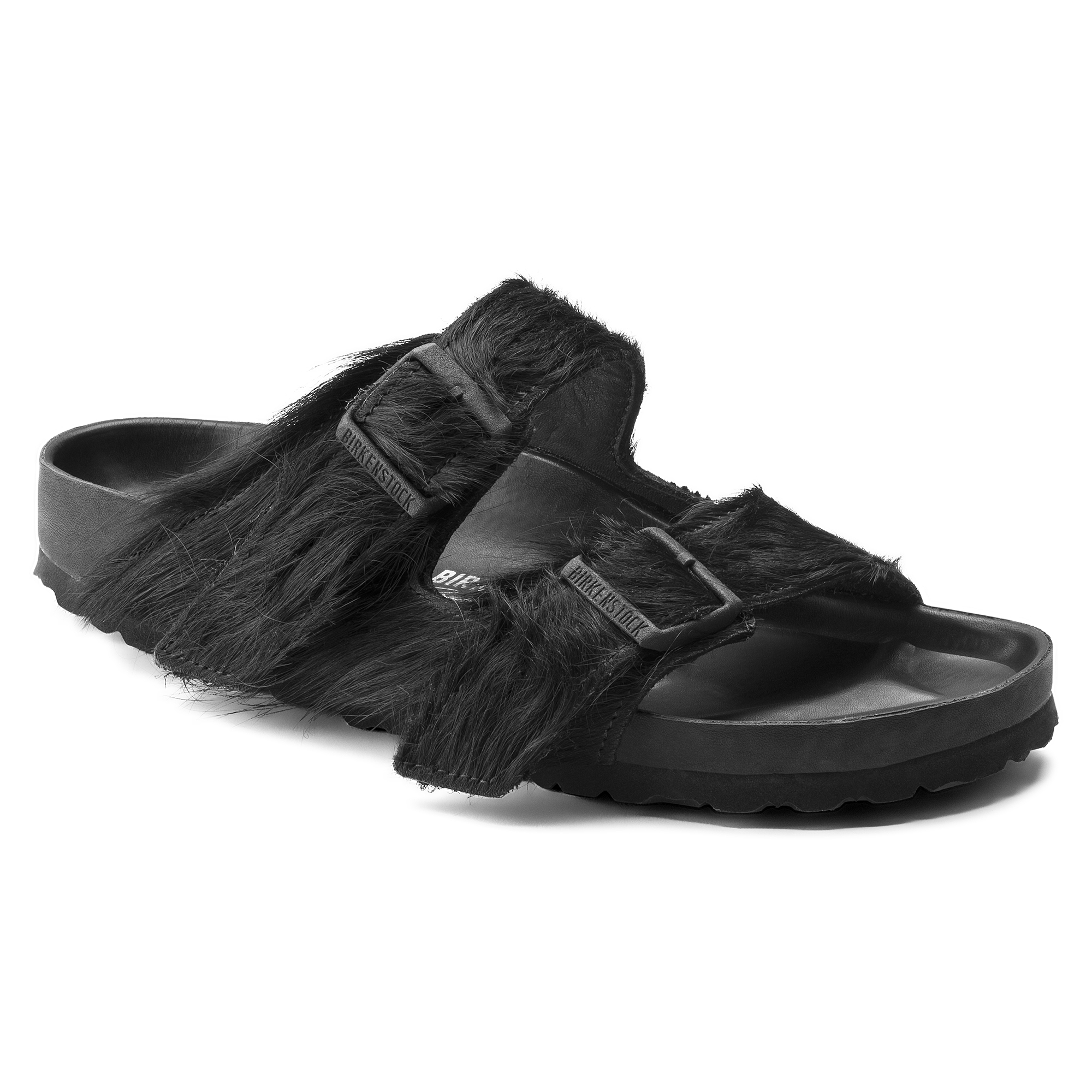 58f4feb2da0 Arizona Rick Owens Longhair Black ...