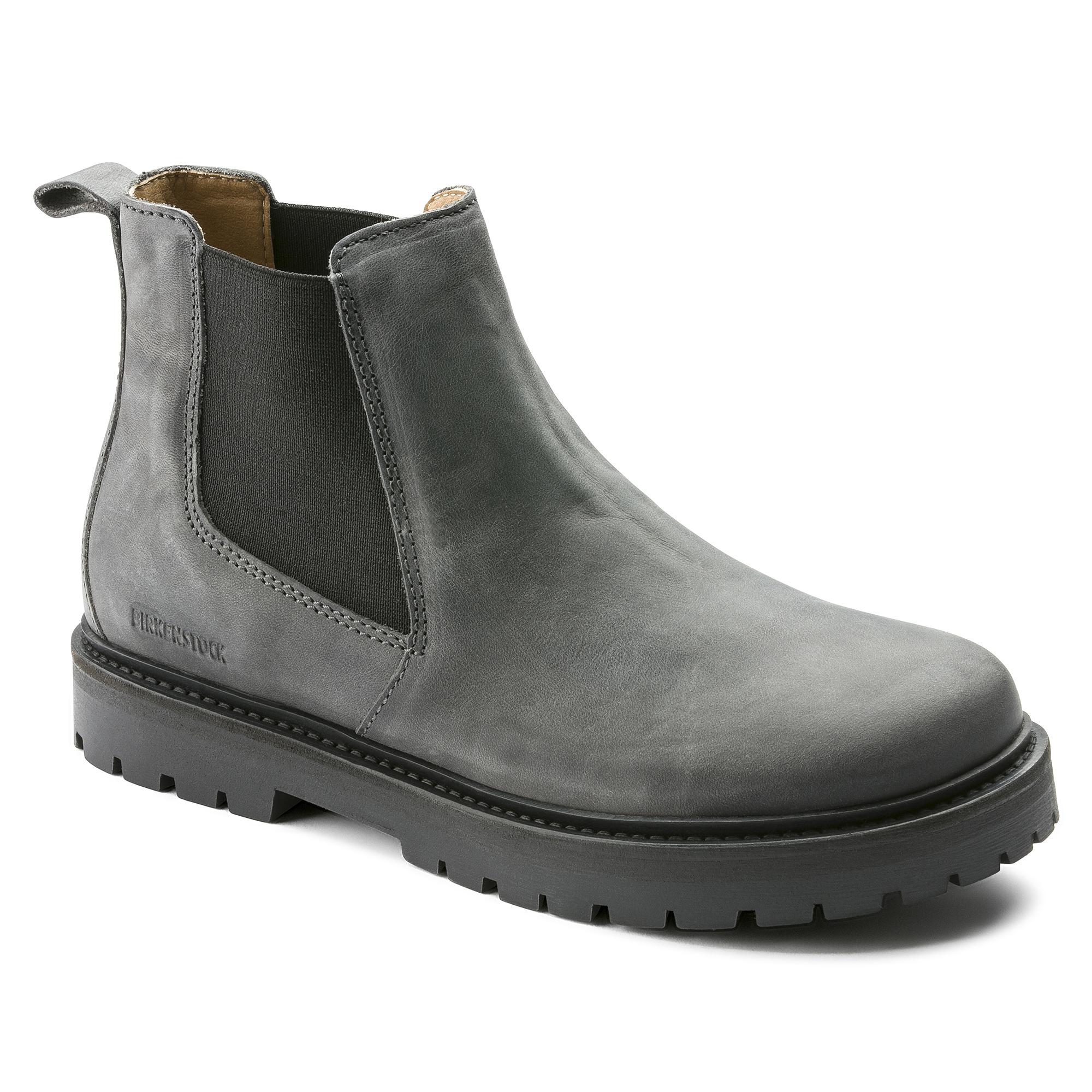 15a44bae4a9 Stalon Nubuck Leather Graphite