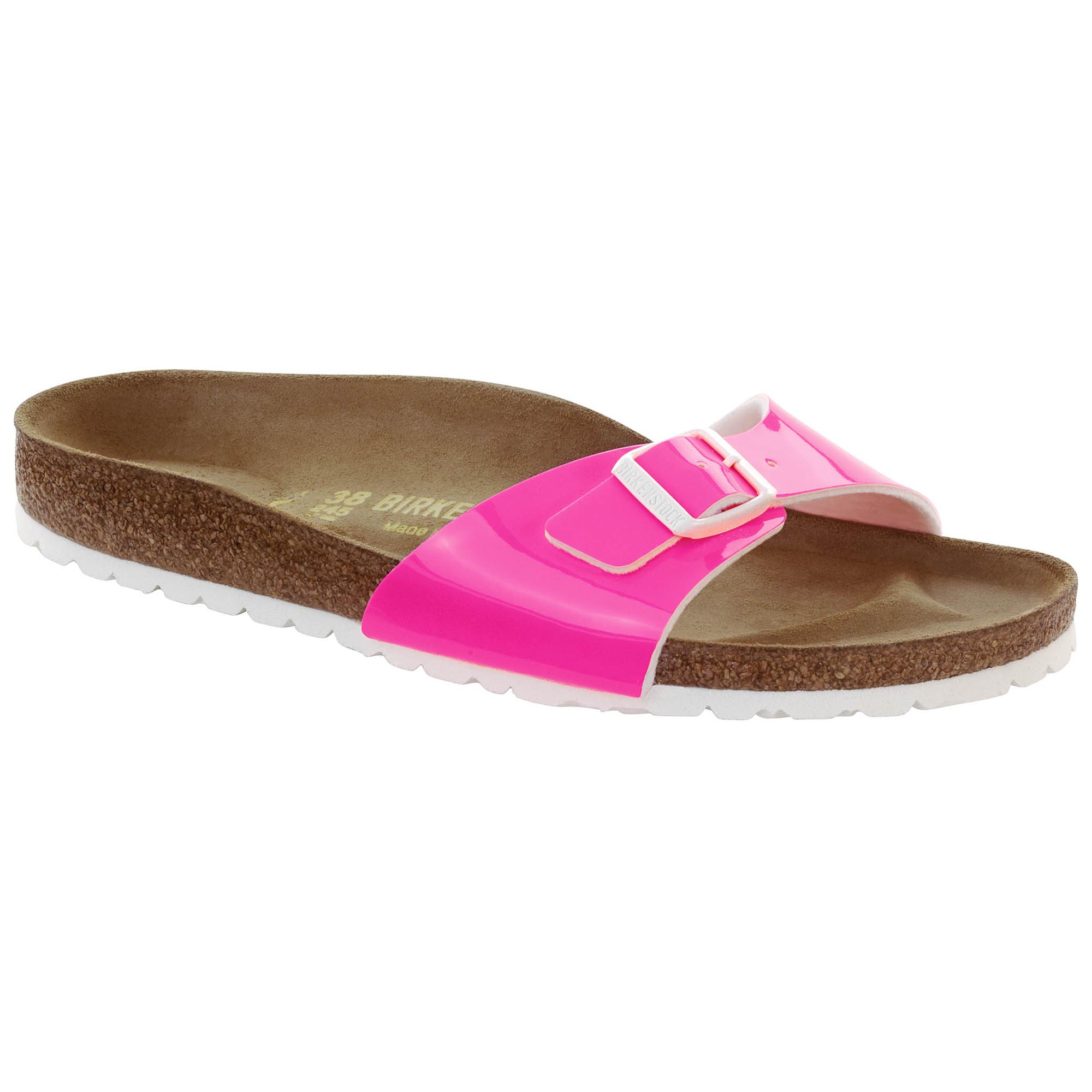 new products d3bfb 318cf Madrid Birko-Flor Patent Patent Pink