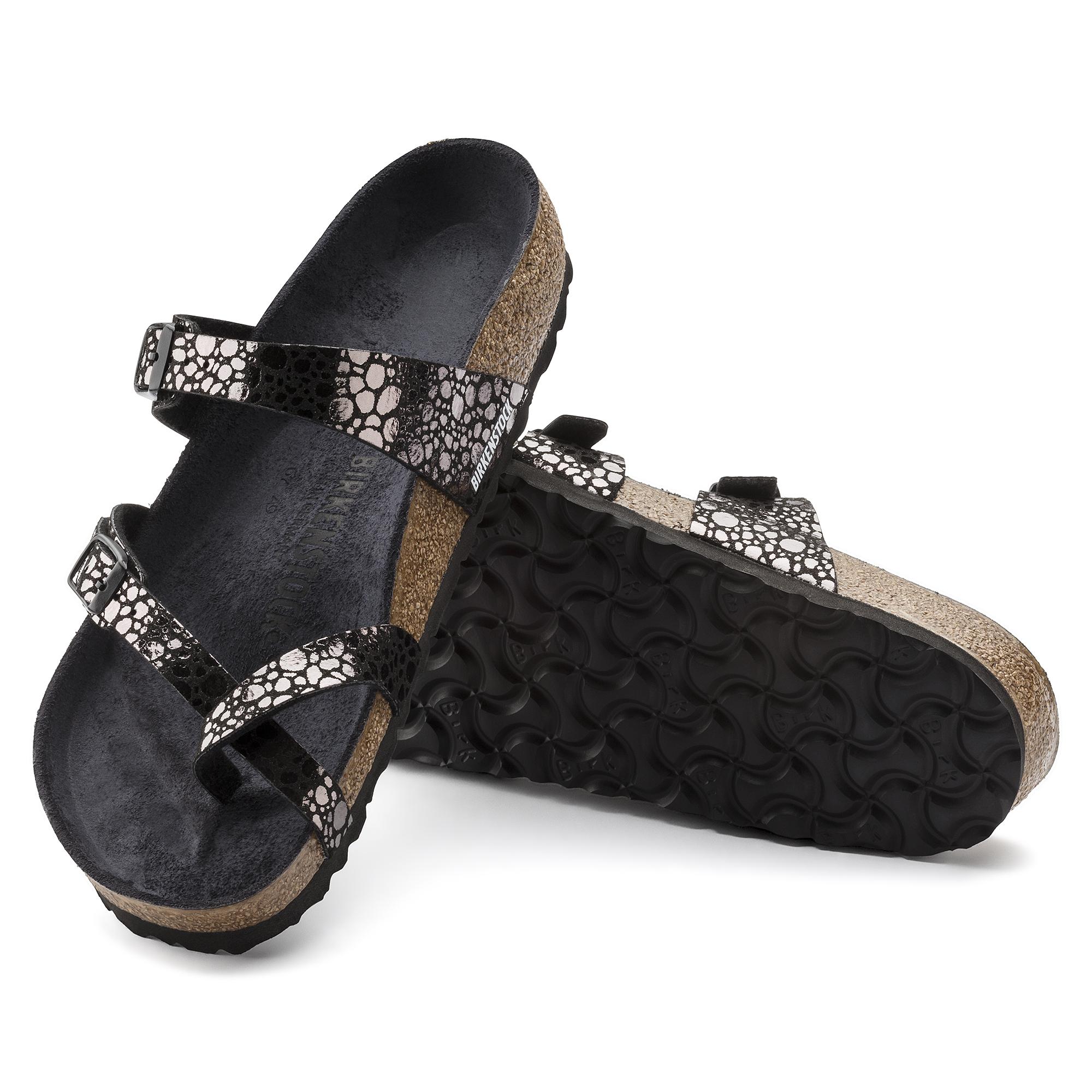 Mayari Birko-Flor Metallic Stones Black