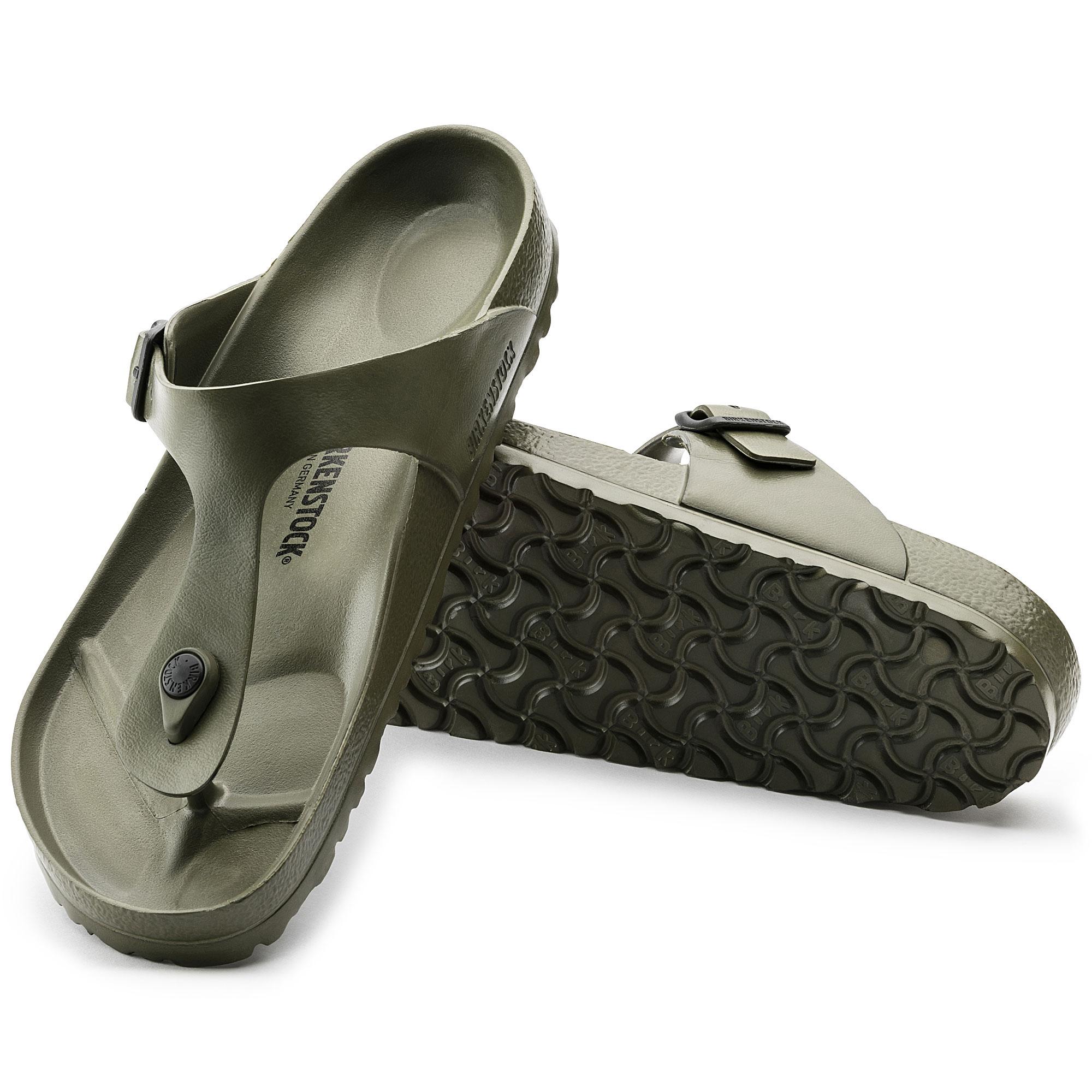 Birkenstock Gizeh EVA Khaki Sandals