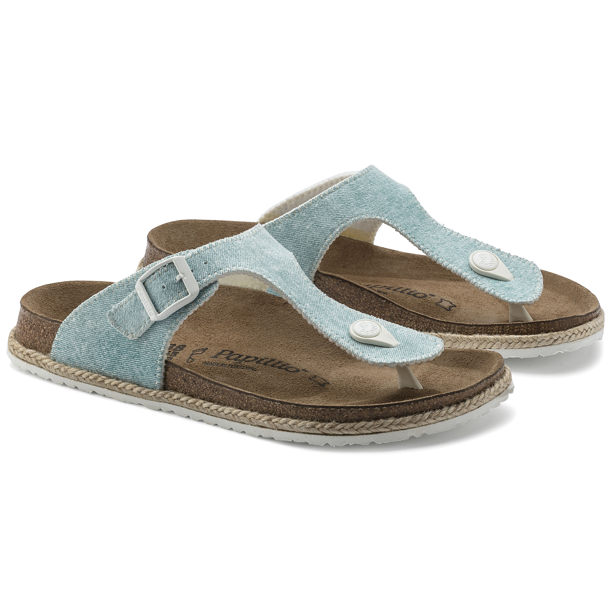 Gizeh Birko Flor Beach Light Blue