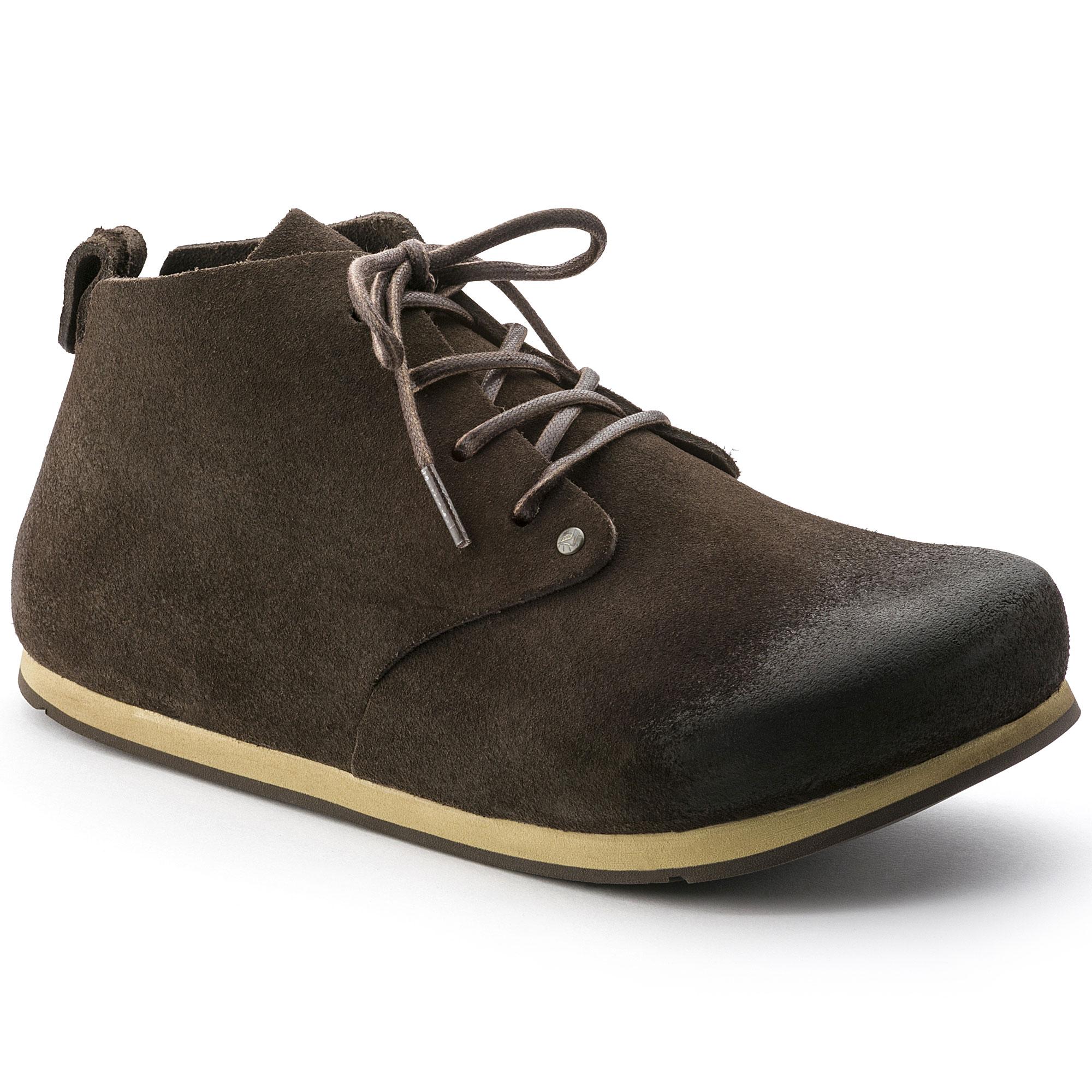 Birkenstock Maine - Zapatos de cordones de Piel para mujer Marrón Softy Brown, color Marrón, talla 39 EU