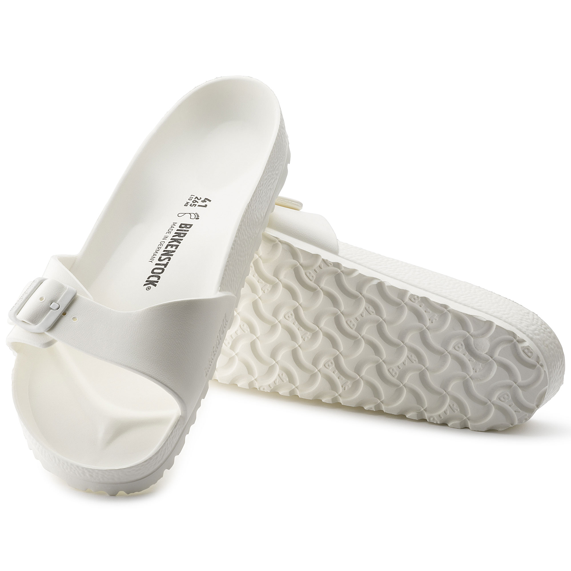 Birkenstock Madrid White EVA Sandal for Women Size 41 EU