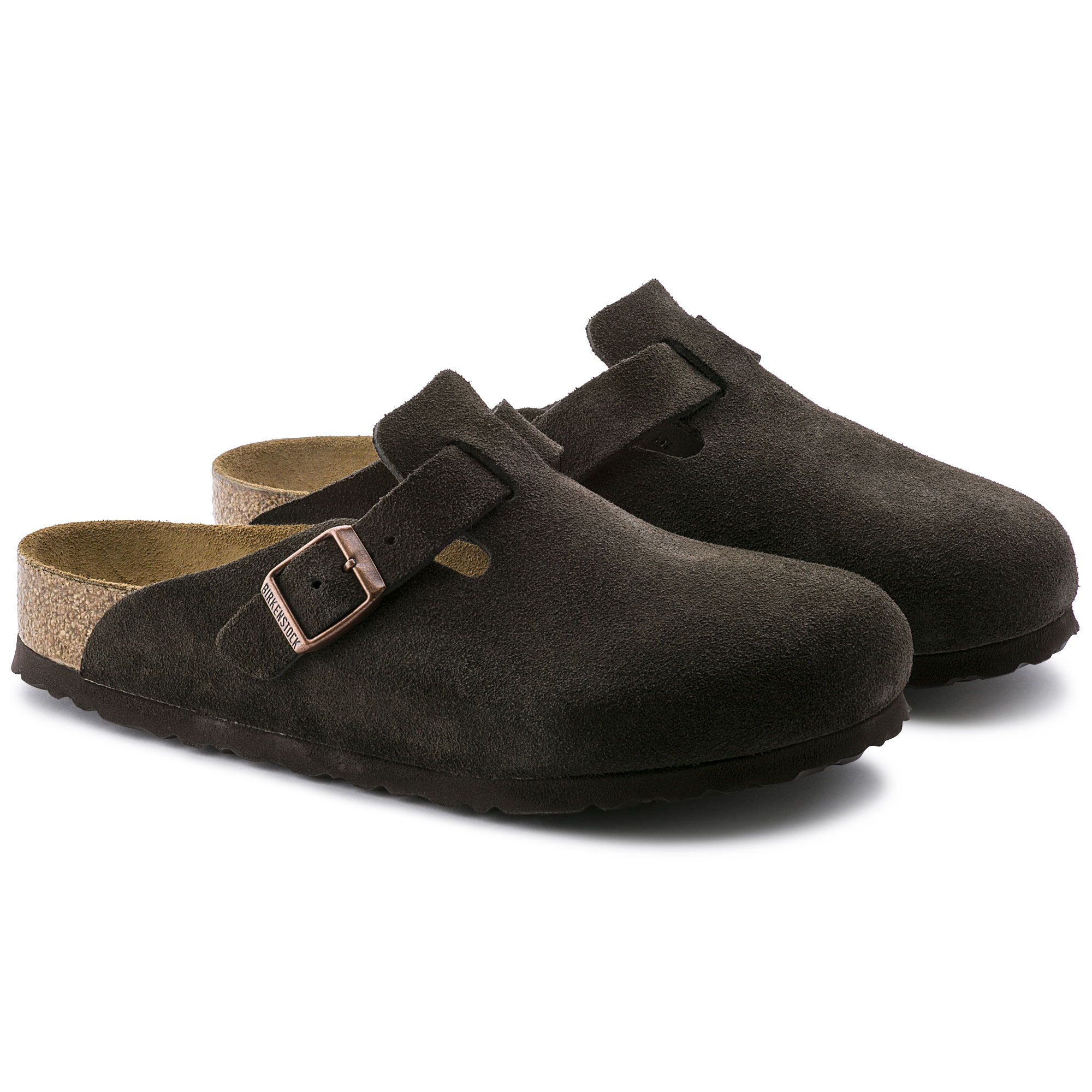 28150bee1409 ... Boston Suede Leather Mocha ...
