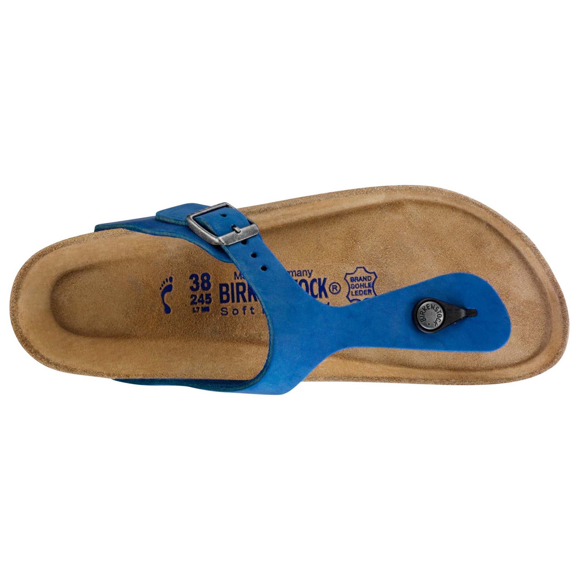 4011546ffca7 ... Gizeh Nubuck Leather Blue