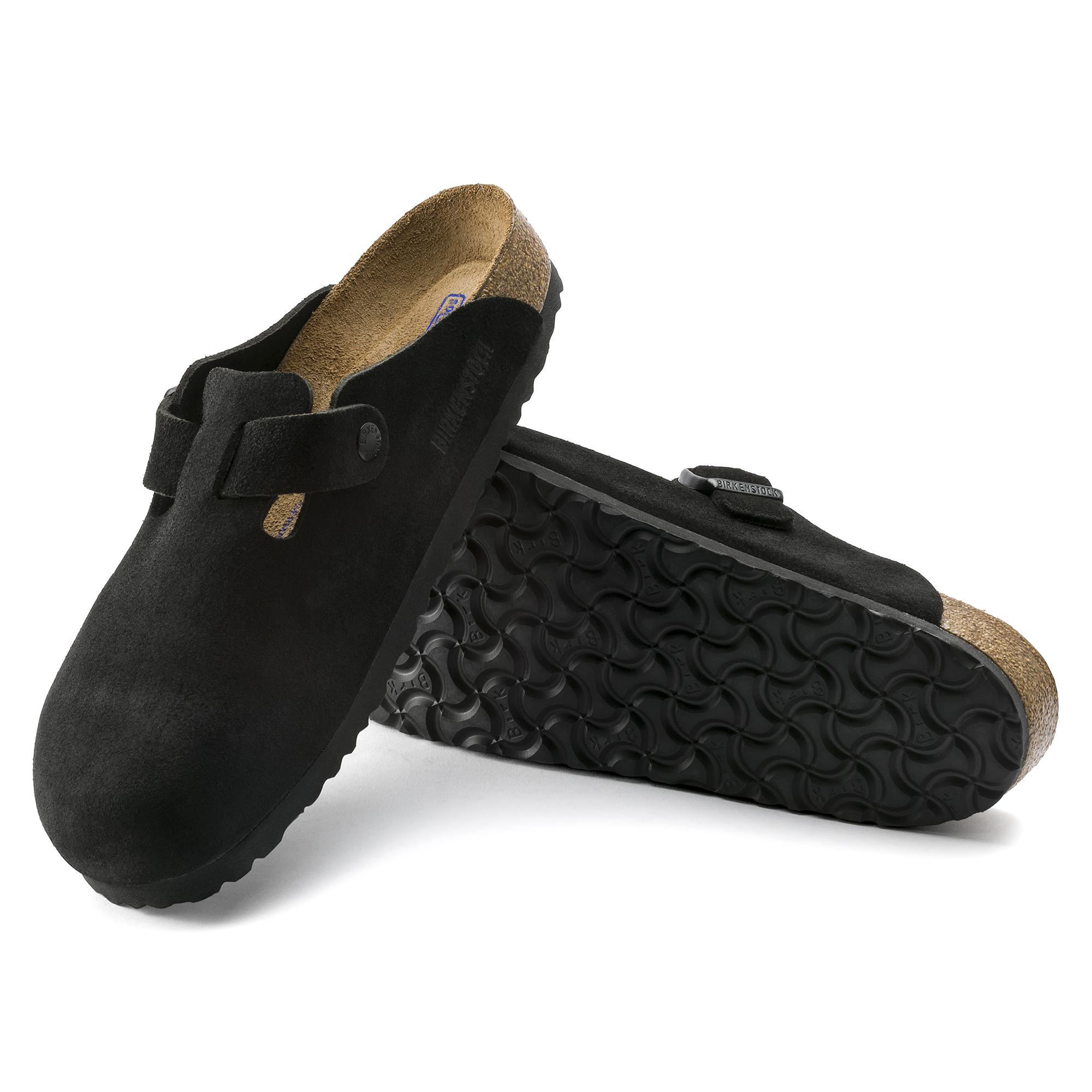 Boston Suede Leather Black | shop