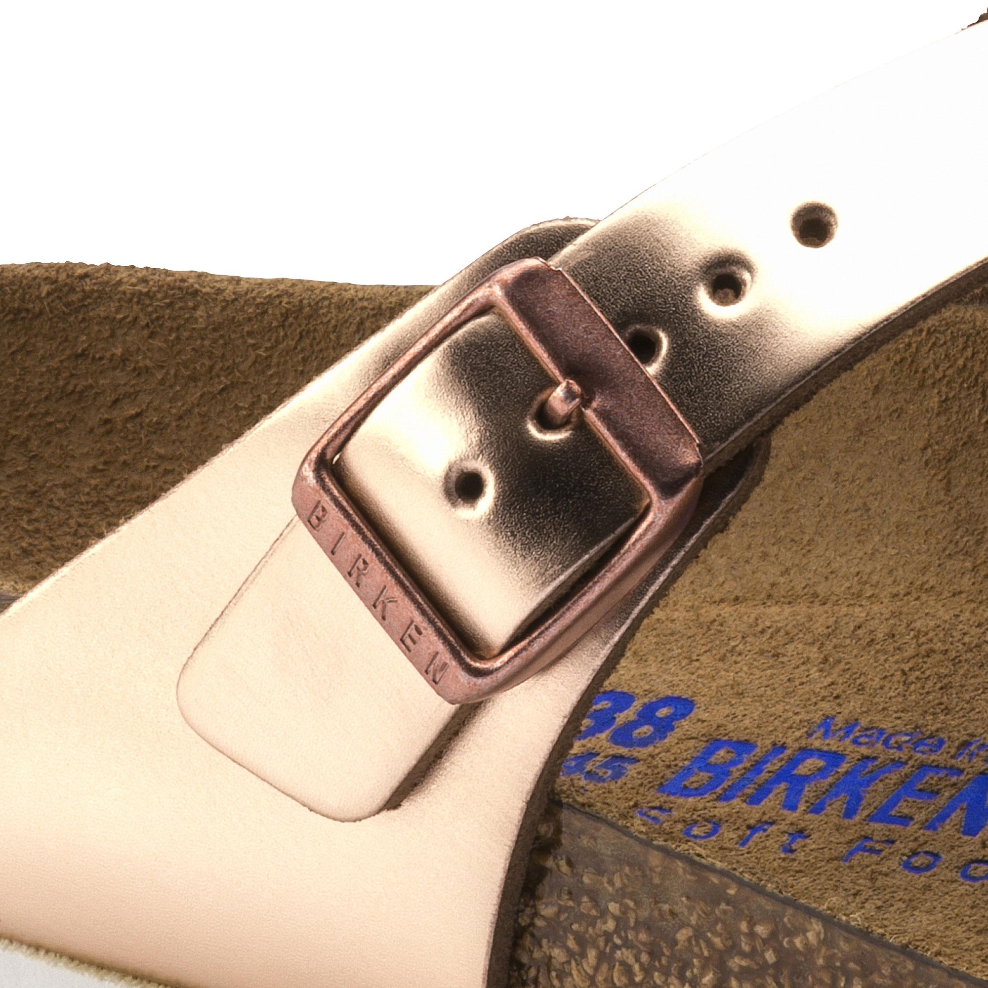 de3c35de4bc ... Gizeh Natural Leather Metallic Copper ...