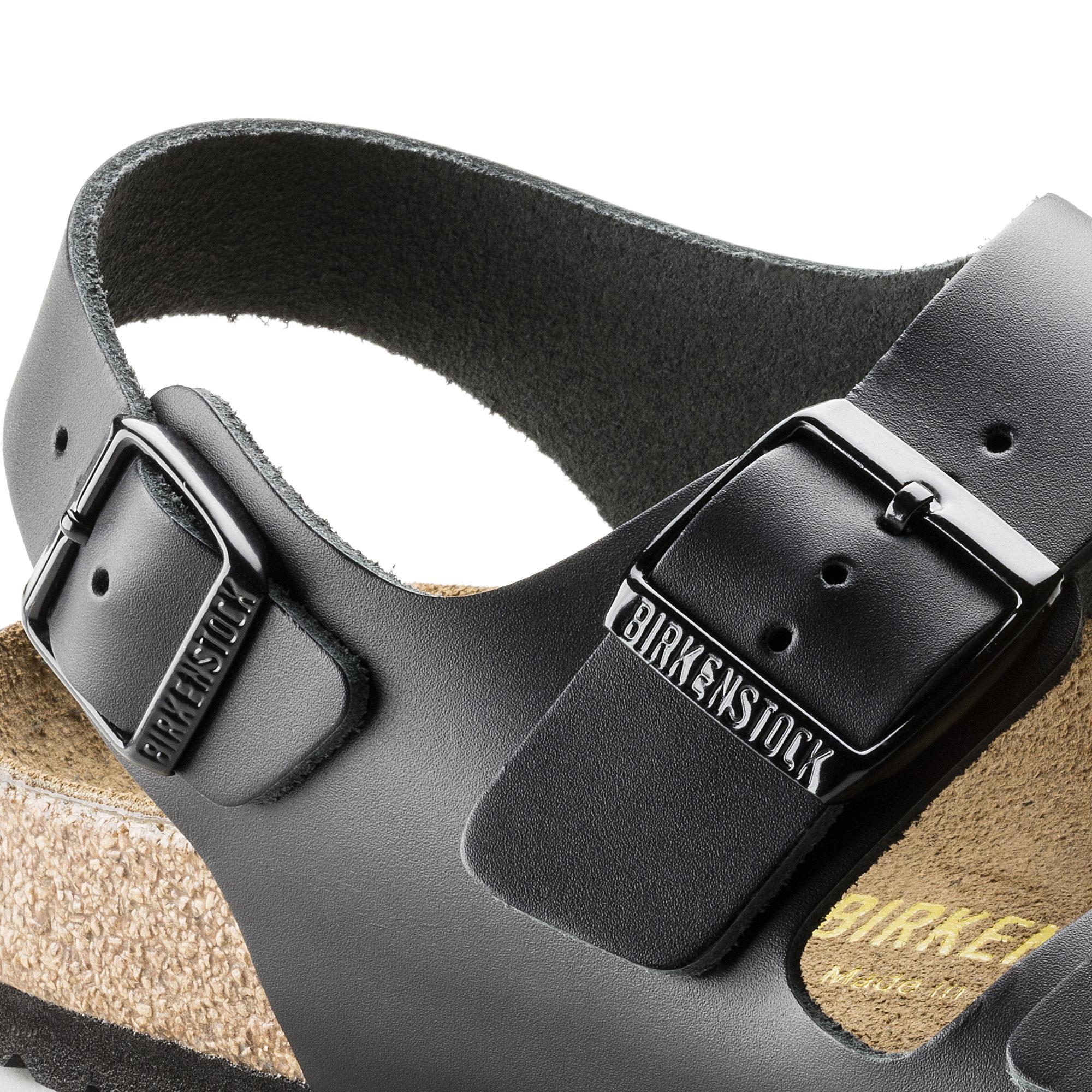 Birkenstock Milano Black Leather