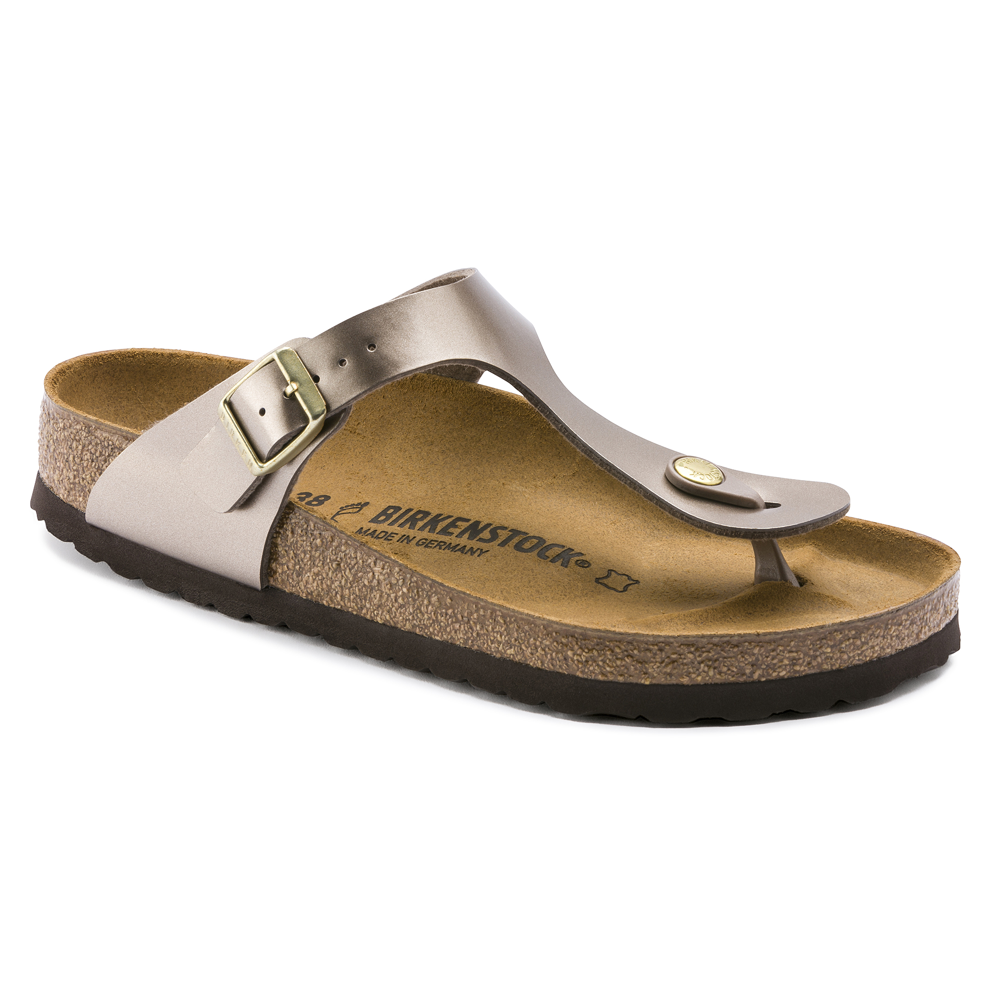 Gizeh Birko Flor Electric Metallic Taupe