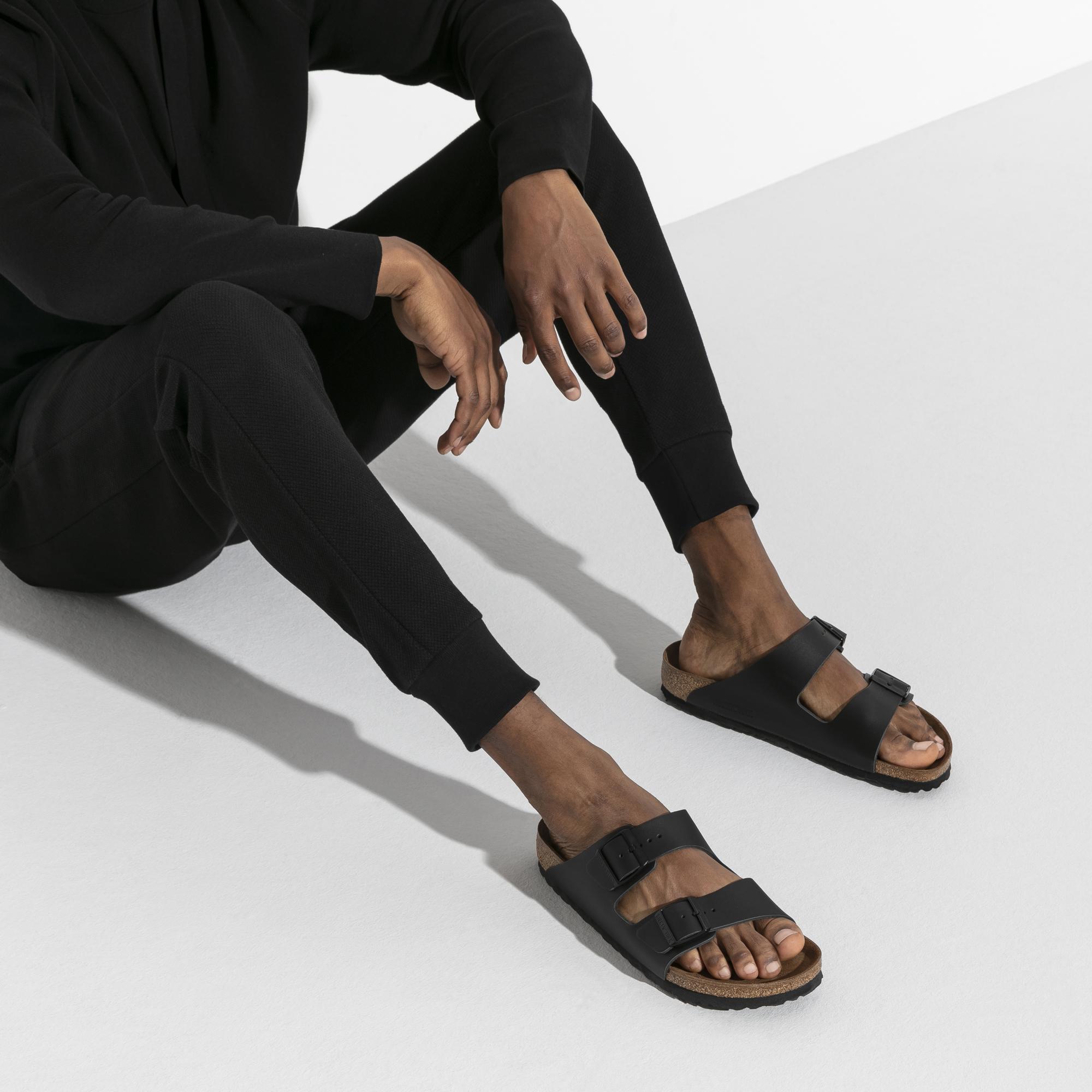 3fee4ebd405 ... Arizona Nubuck Leather Black ...