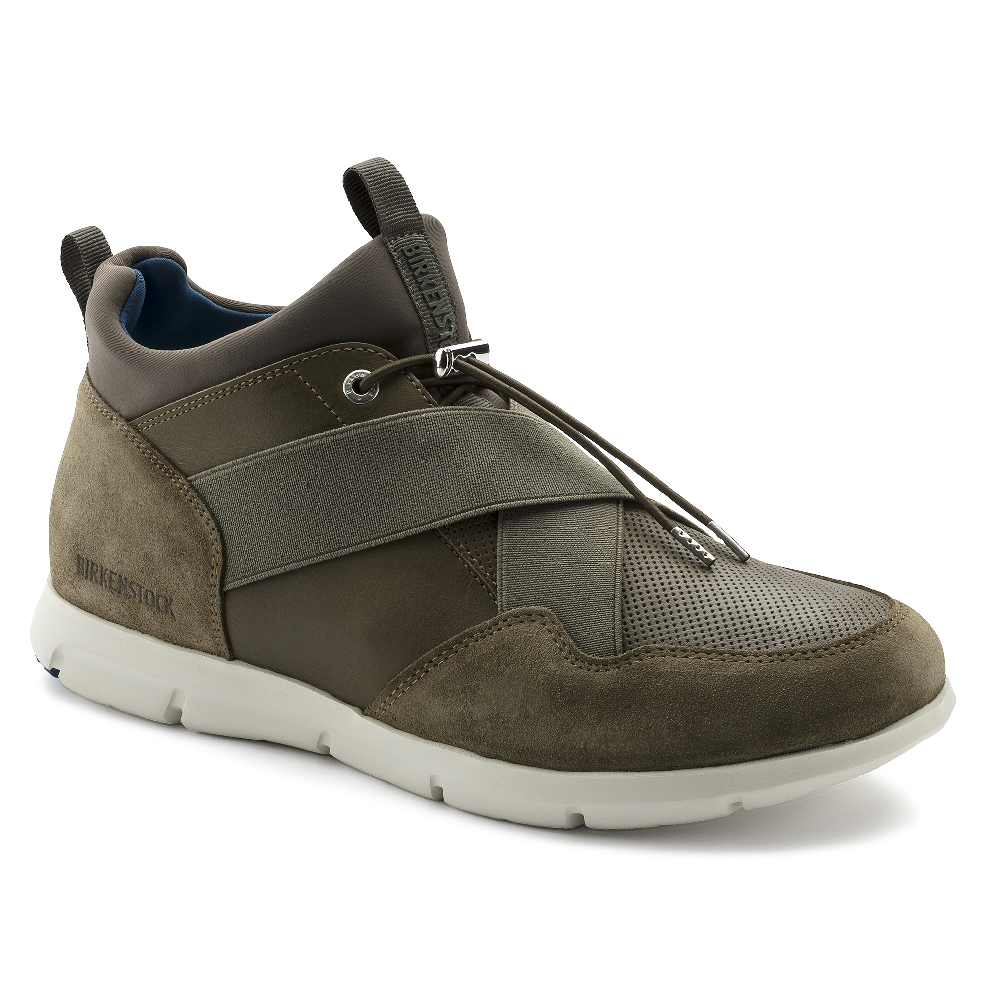 Ames Suede Leather Black | shop online at BIRKENSTOCK