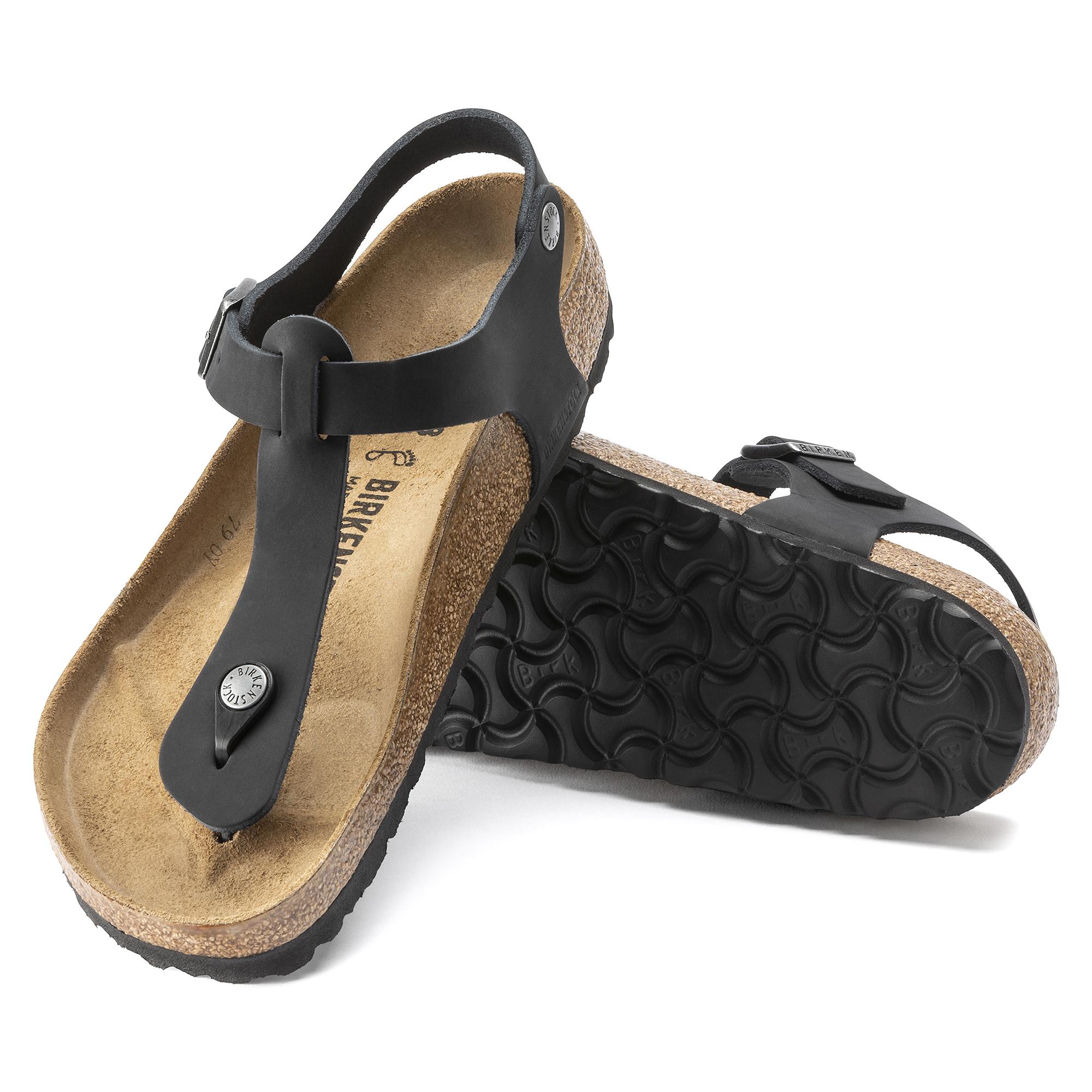 Kairo Oiled Leather Schwarz