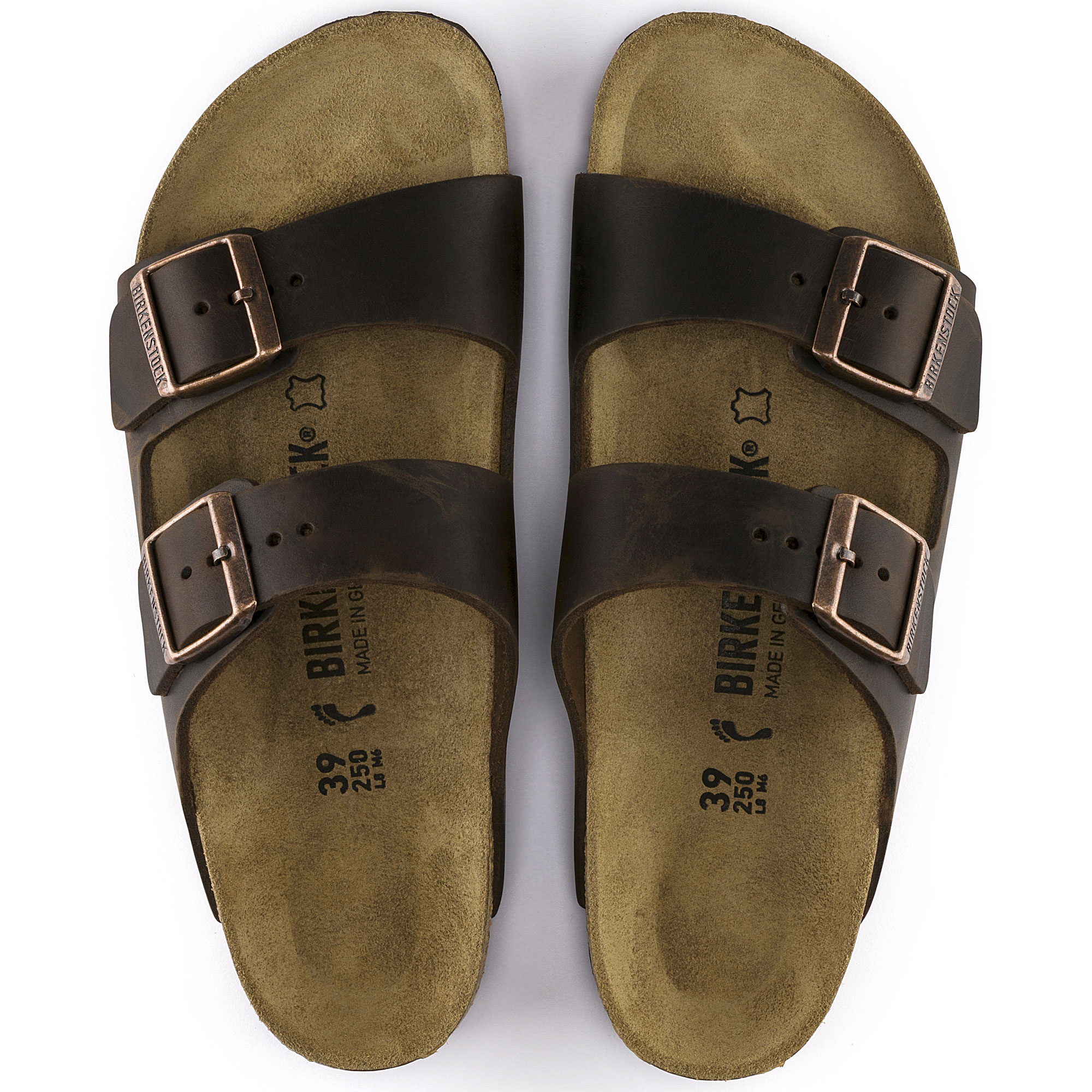 65714bafd30 Arizona Oiled Leather Habana | shop online at BIRKENSTOCK
