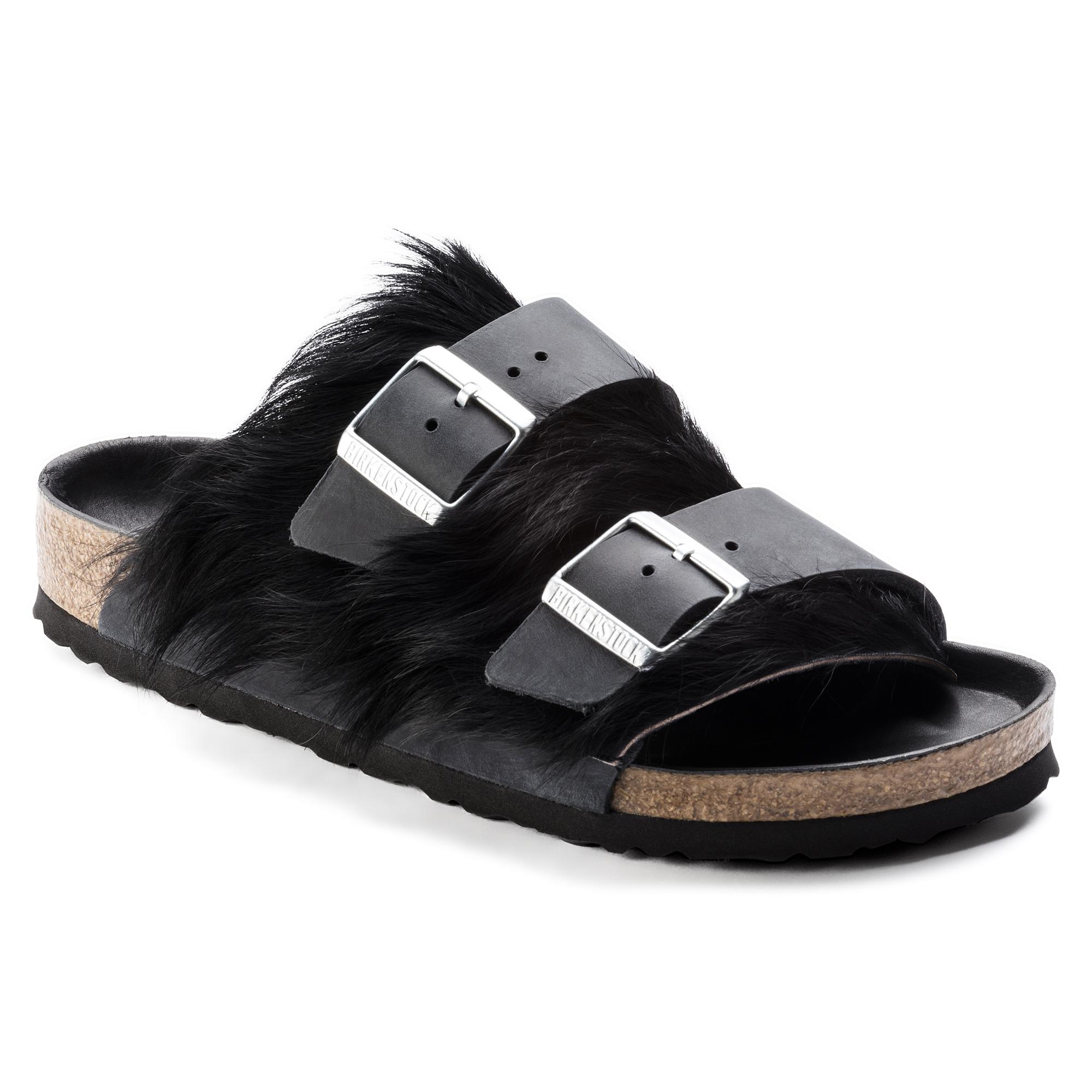 8e368d6a9577 Arizona Natural Leather Fur Black
