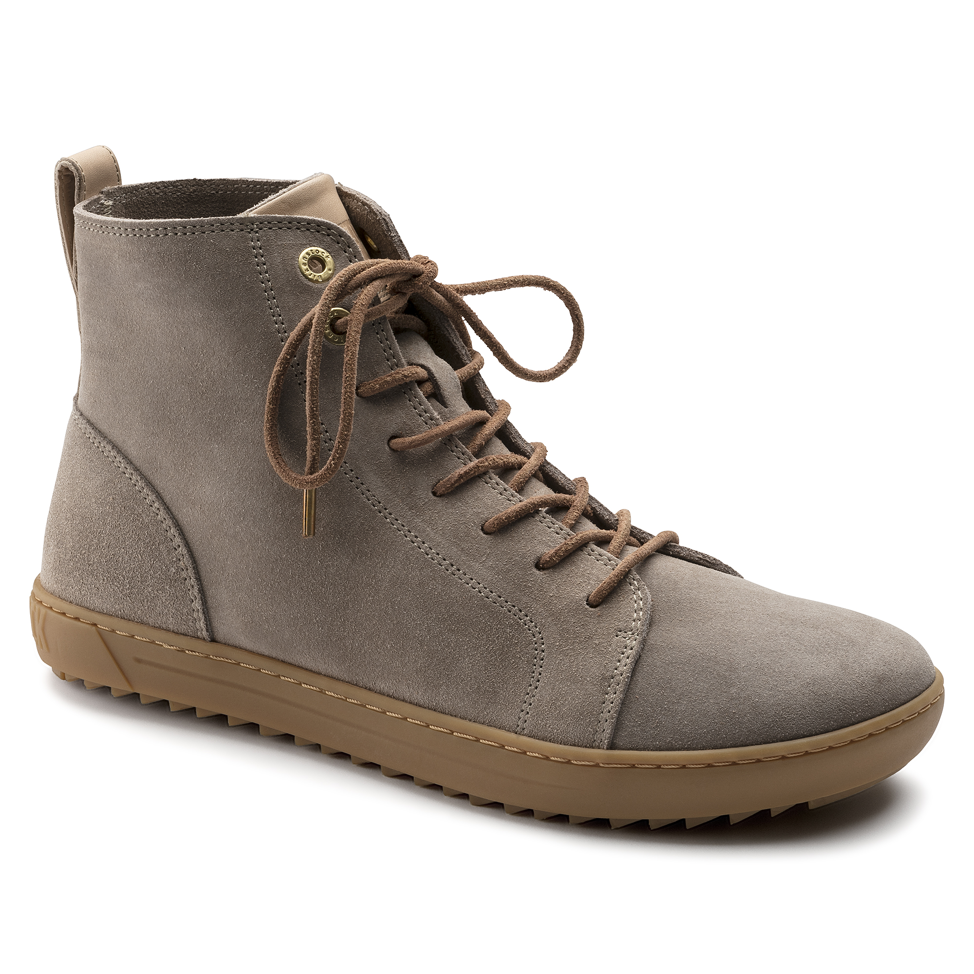 4ba72ad26f695a Bartlett Suede Leather Taupe ...