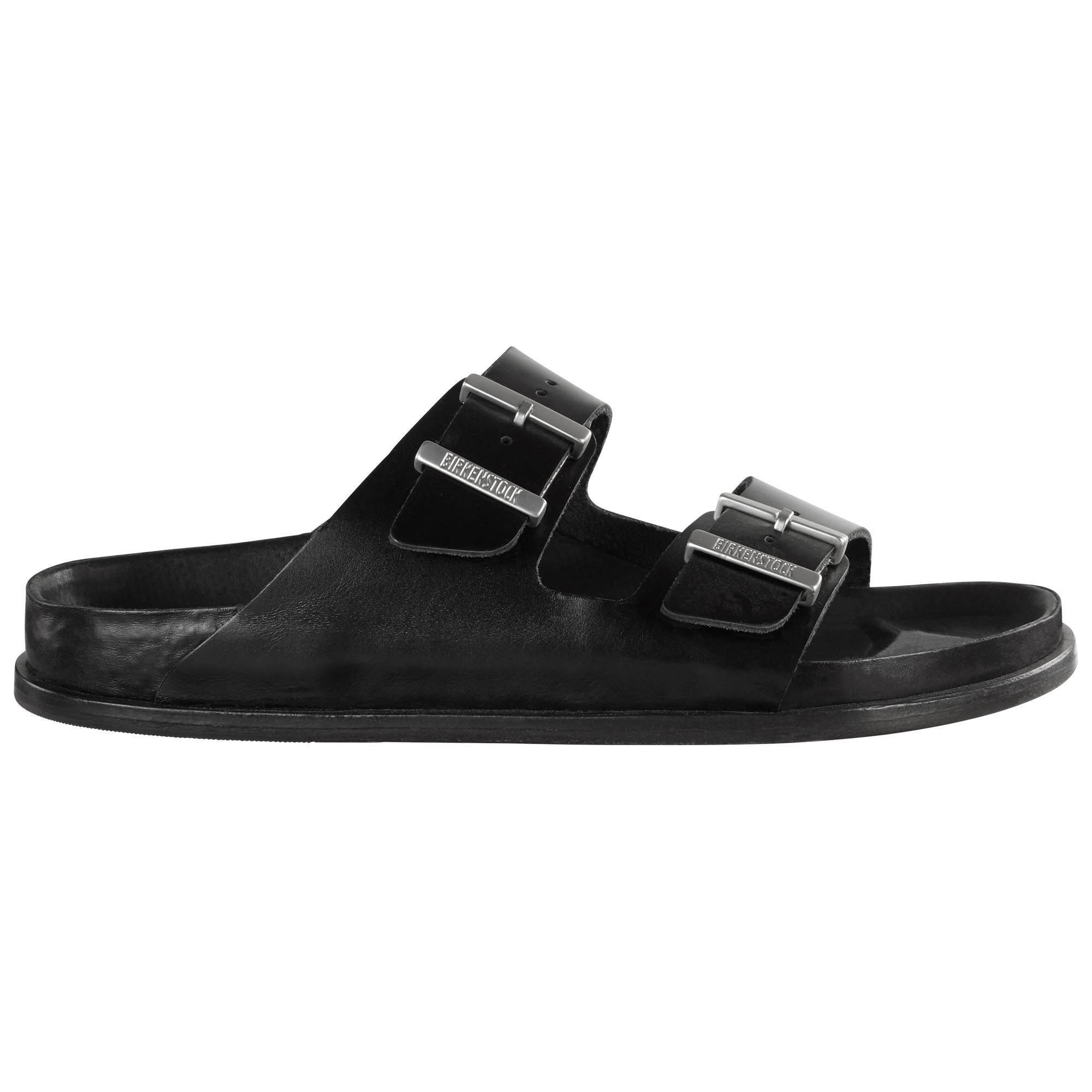 all black leather birkenstocks