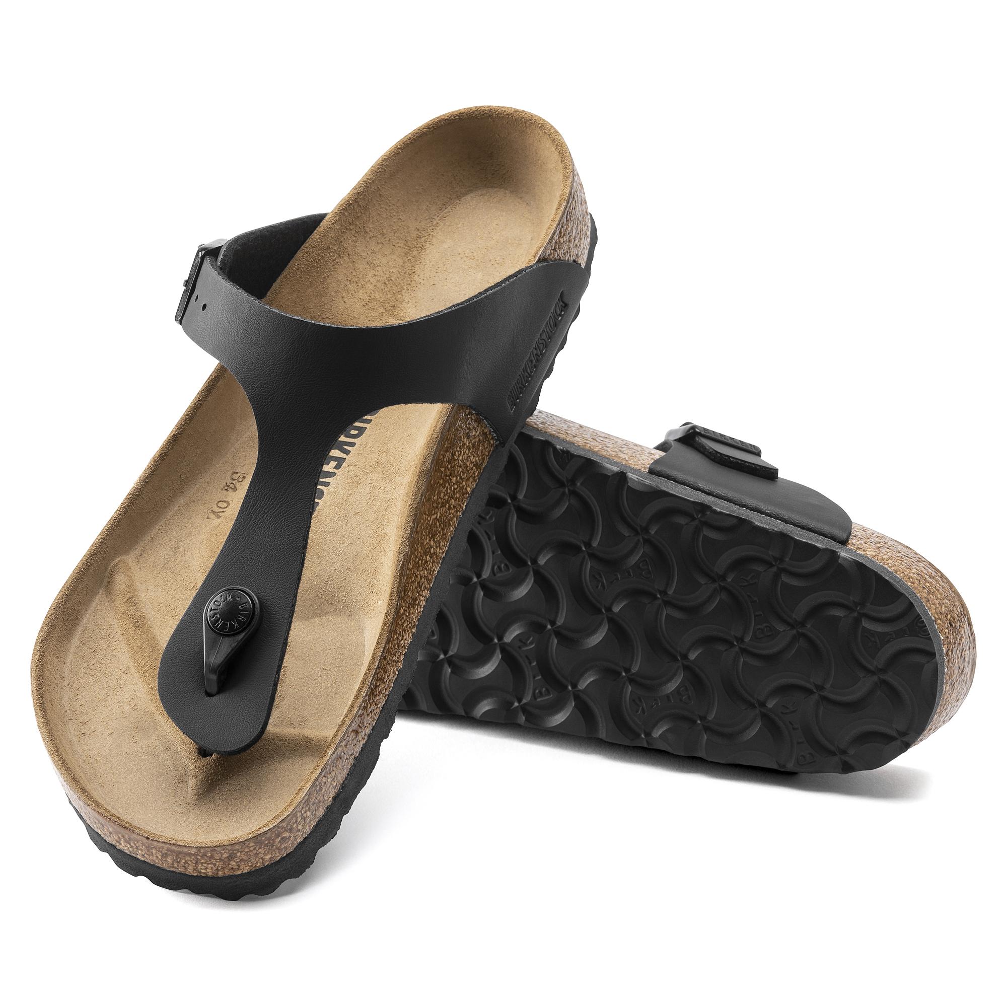 Damen Gizeh Core Sandale black 38