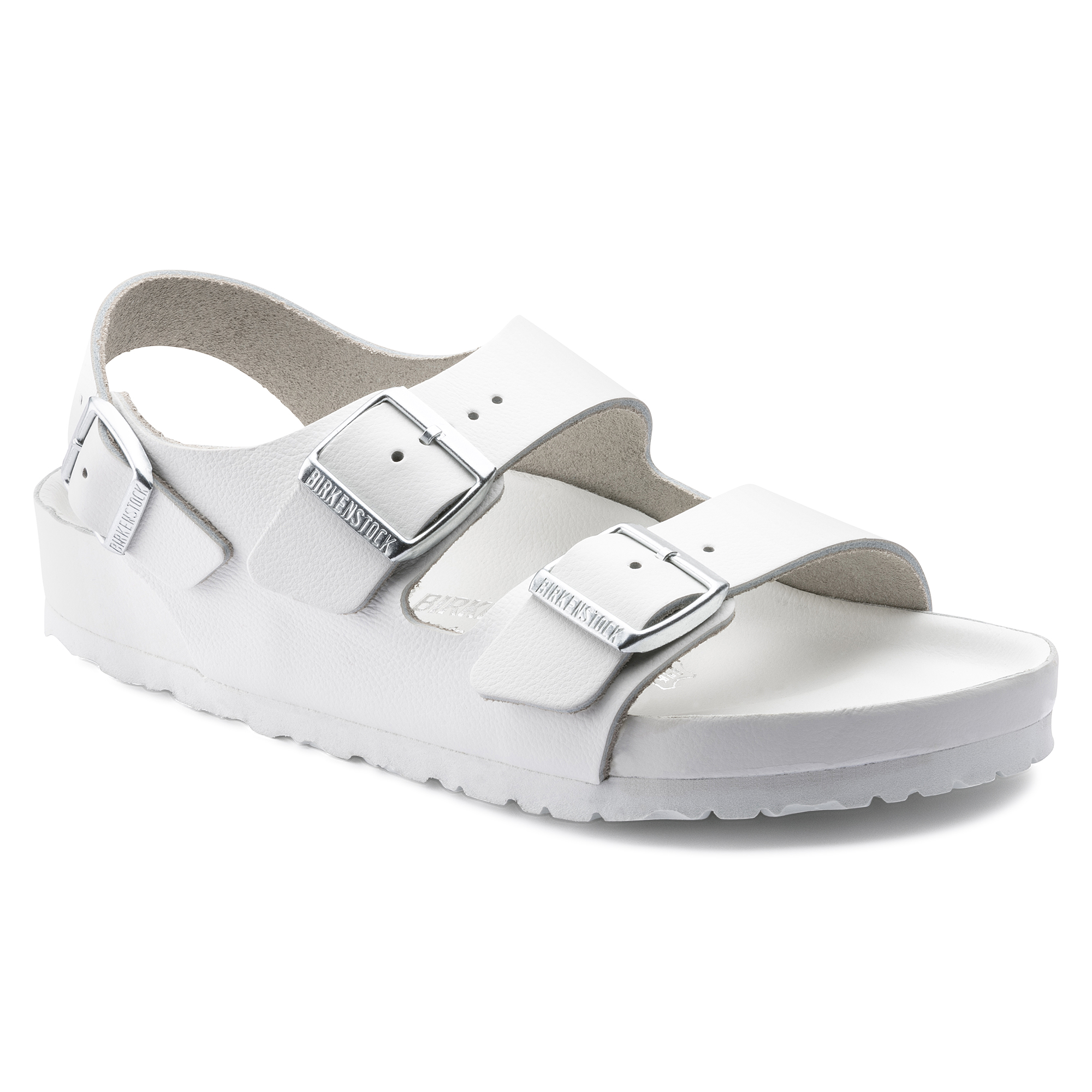 b8d30c1daaa Milano Natural Leather White
