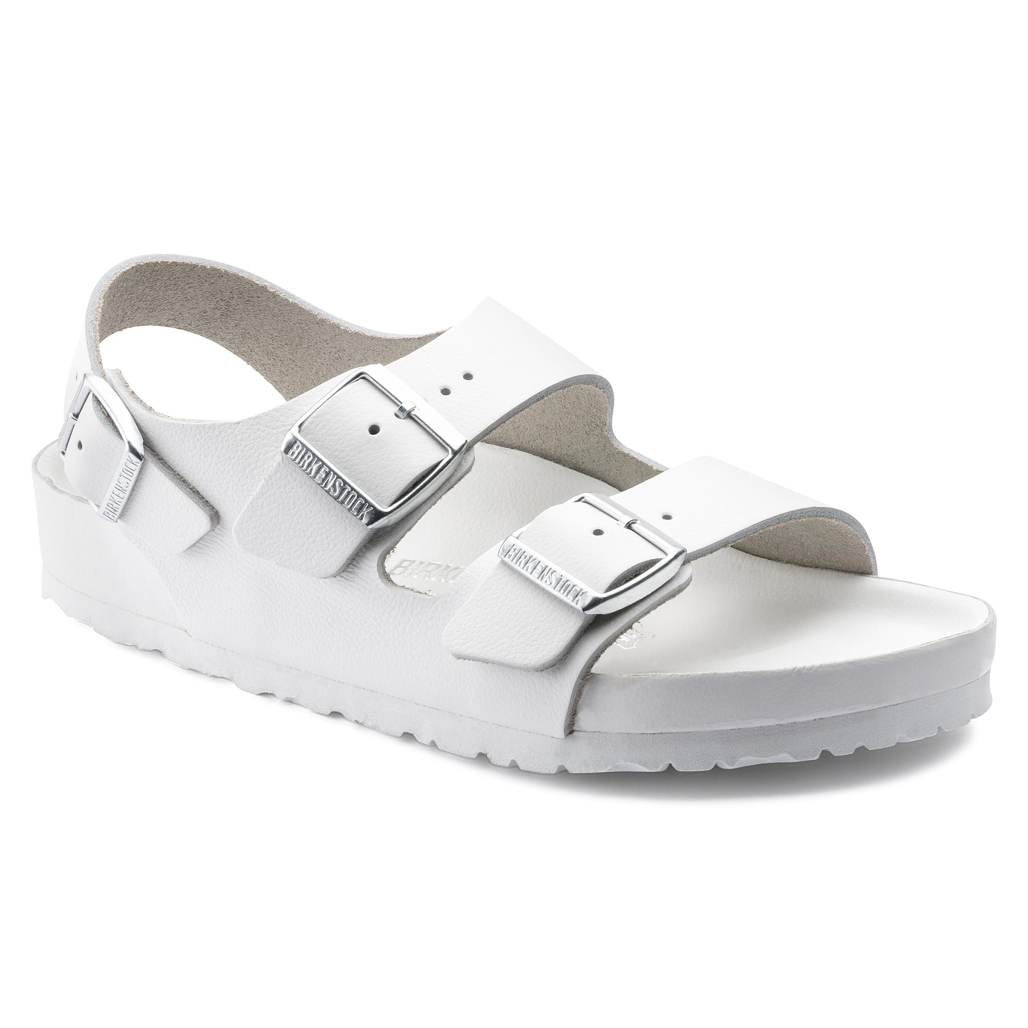 fde2c62685d Milano Natural Leather White | Kjøp på nettet hos BIRKENSTOCK
