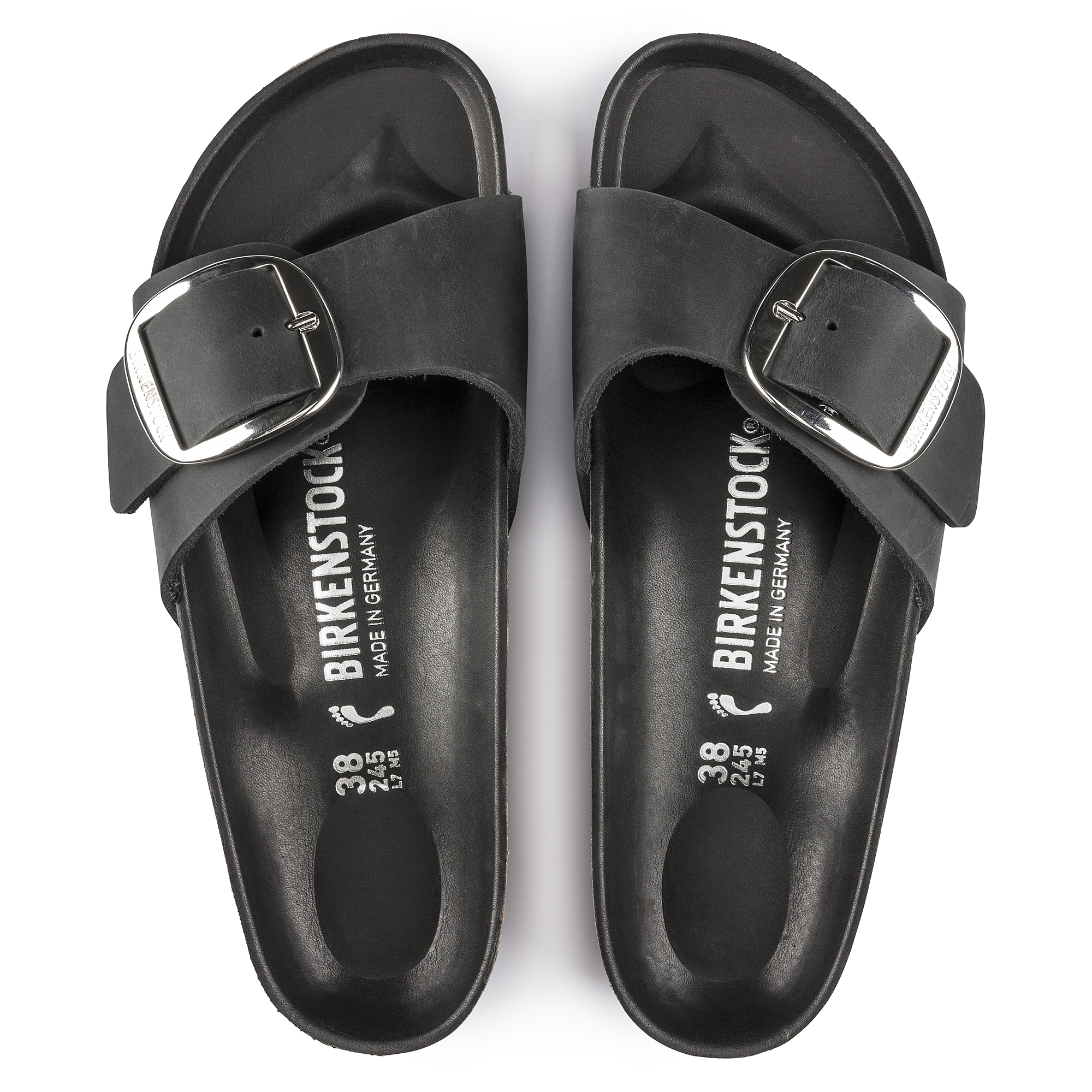 bc6b643b831 Madrid Oiled Leather Black | shop online at BIRKENSTOCK